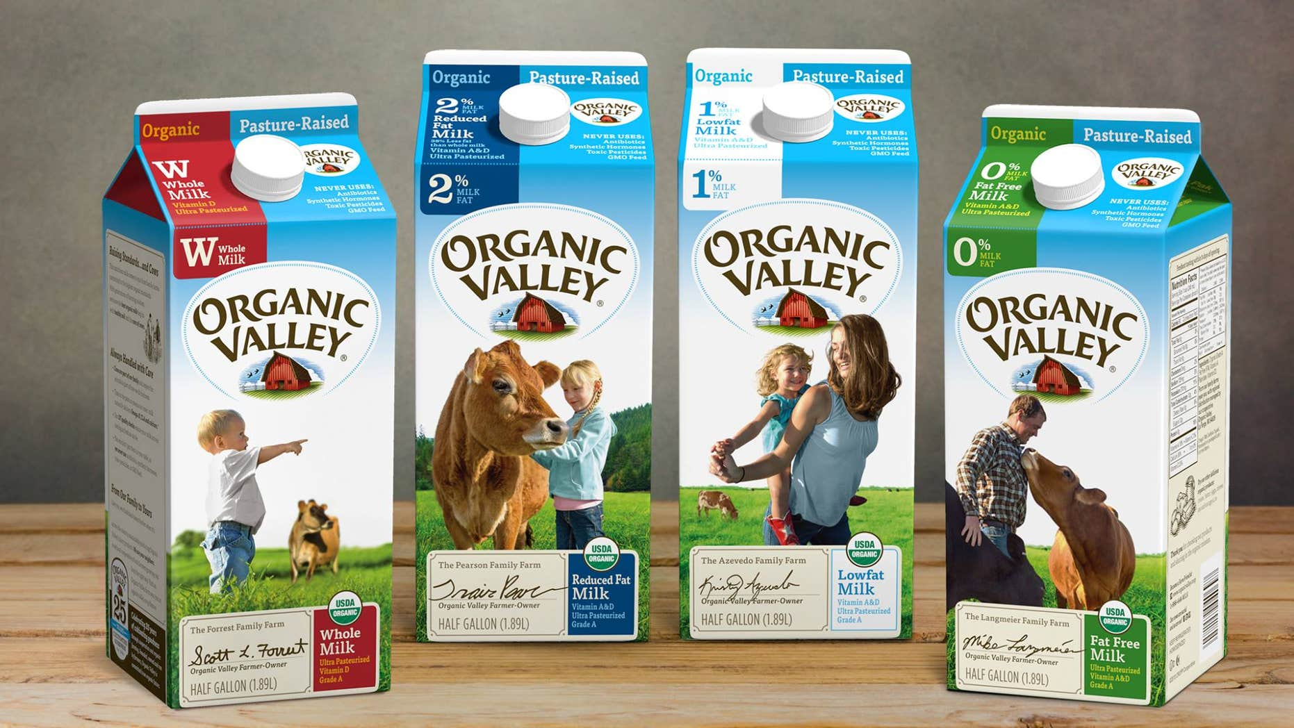 Organic Valley dairy largest cooperative of organic farms in the country.