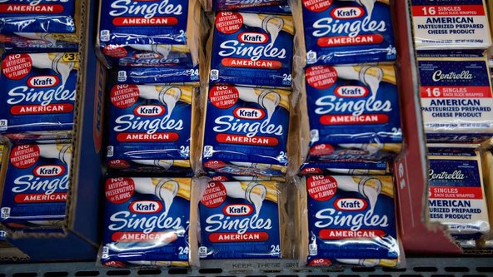 Kraft Singles now approved for kids?