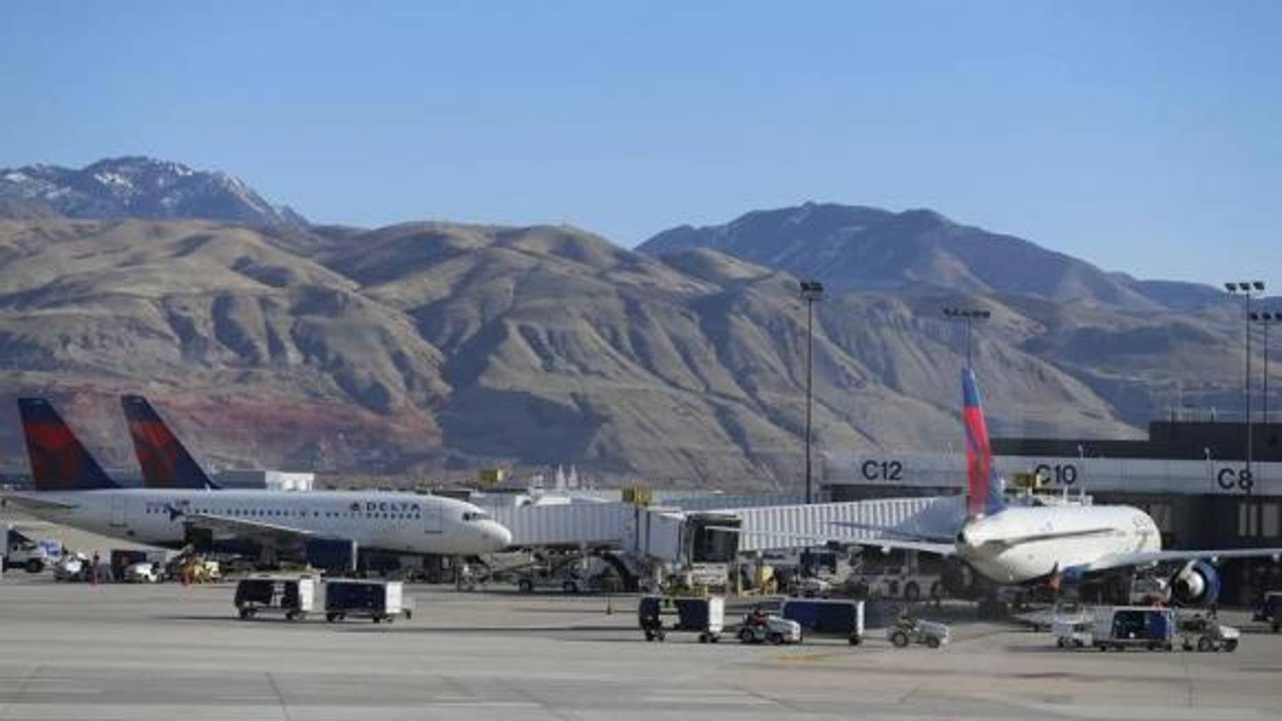 Salt Lake City international is the best domestic airport in on-time performance.