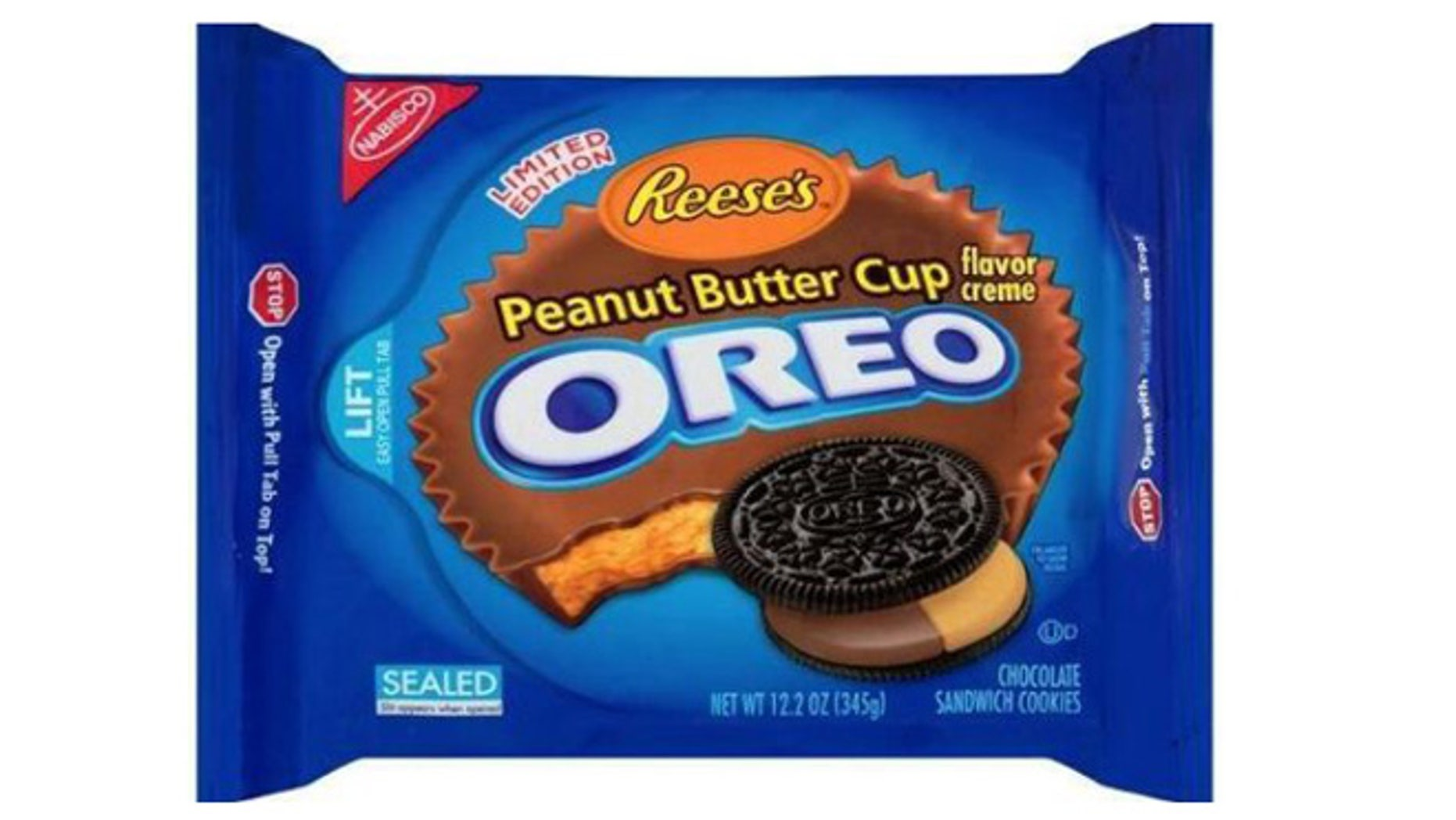 Reese' Peanut Butter Cup and Oreos, together at last.