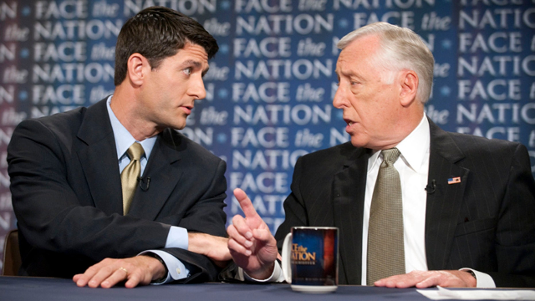 Sunday: House Budget Committee Chairman Paul Ryan, R-Wis., and House Democratic Whip Steny Hoyer, D-Md., discuss jobs and the economy.
