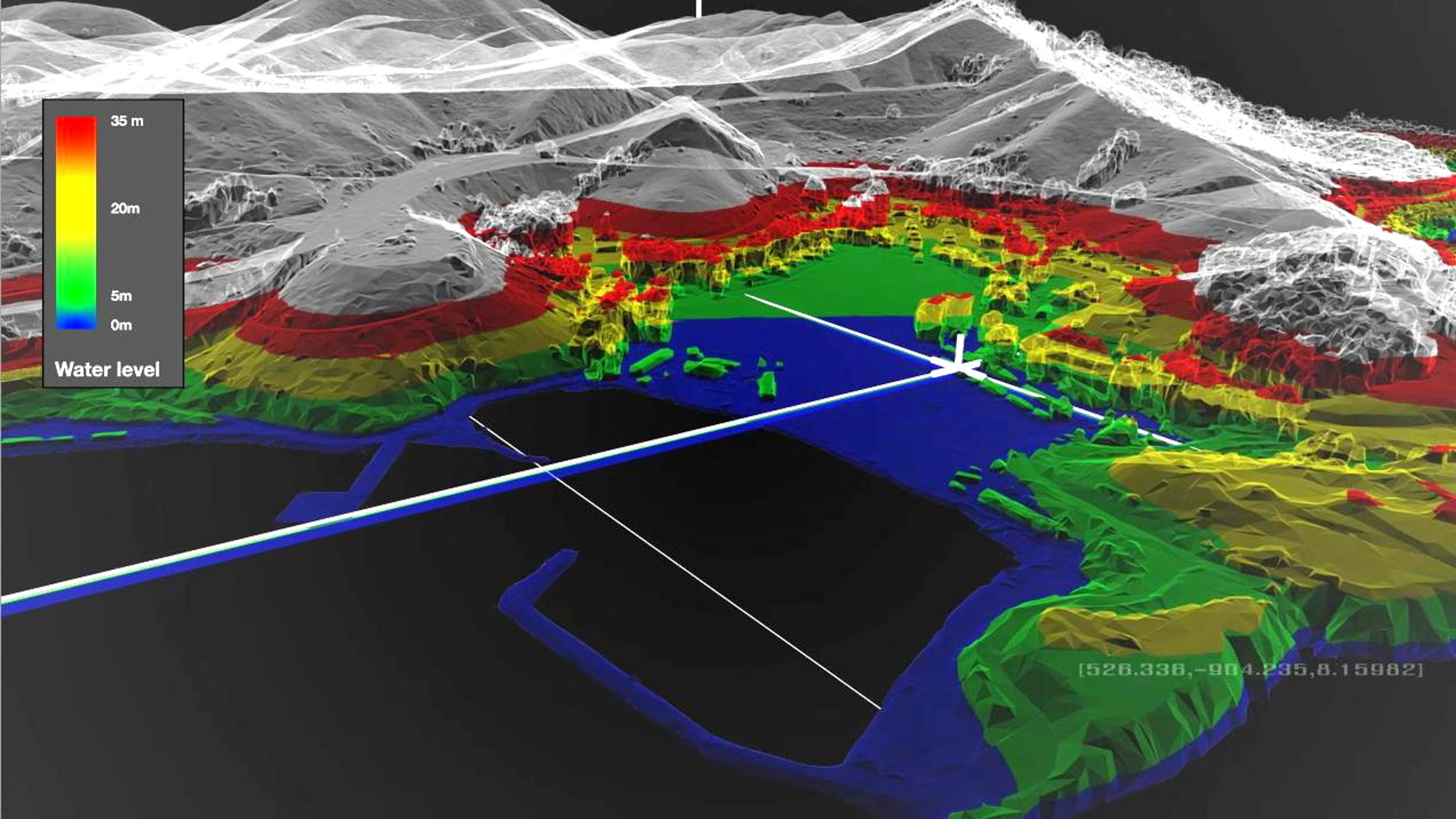 Saab's brand new military technology can create an incredibly detailed and accurate 3D map of a battlefield -- and shows troop and vehicle movements in real time.
