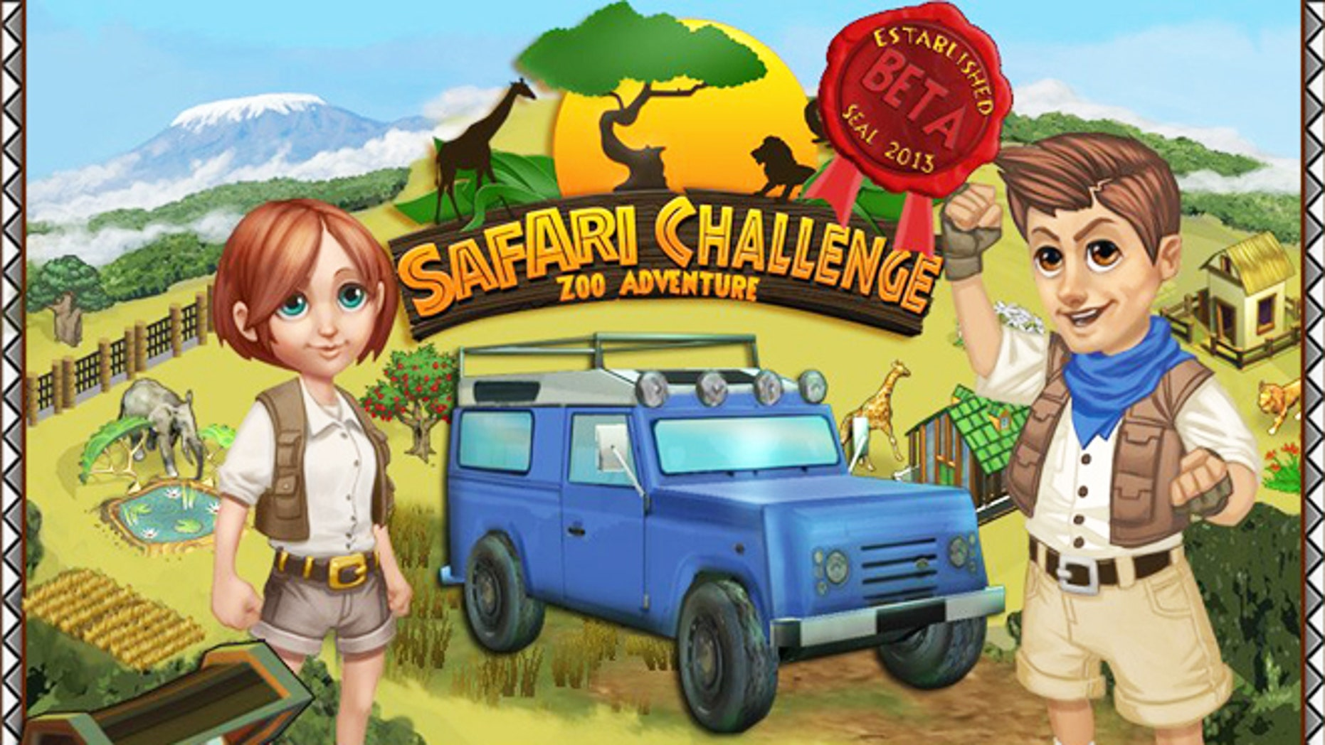 Safari Challenge marries social gaming with philanthropy, helping fund initiatives in rural African communities where fresh water wells, school supplies, playgrounds and homes for orphans are desperately needed.