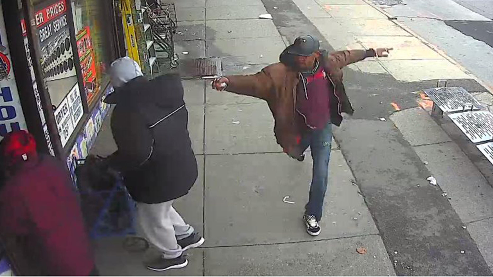 Surveillance video footage of Saheed Vassell showed him pointing what officers believed to be a gun at people in Brooklyn, N.Y.