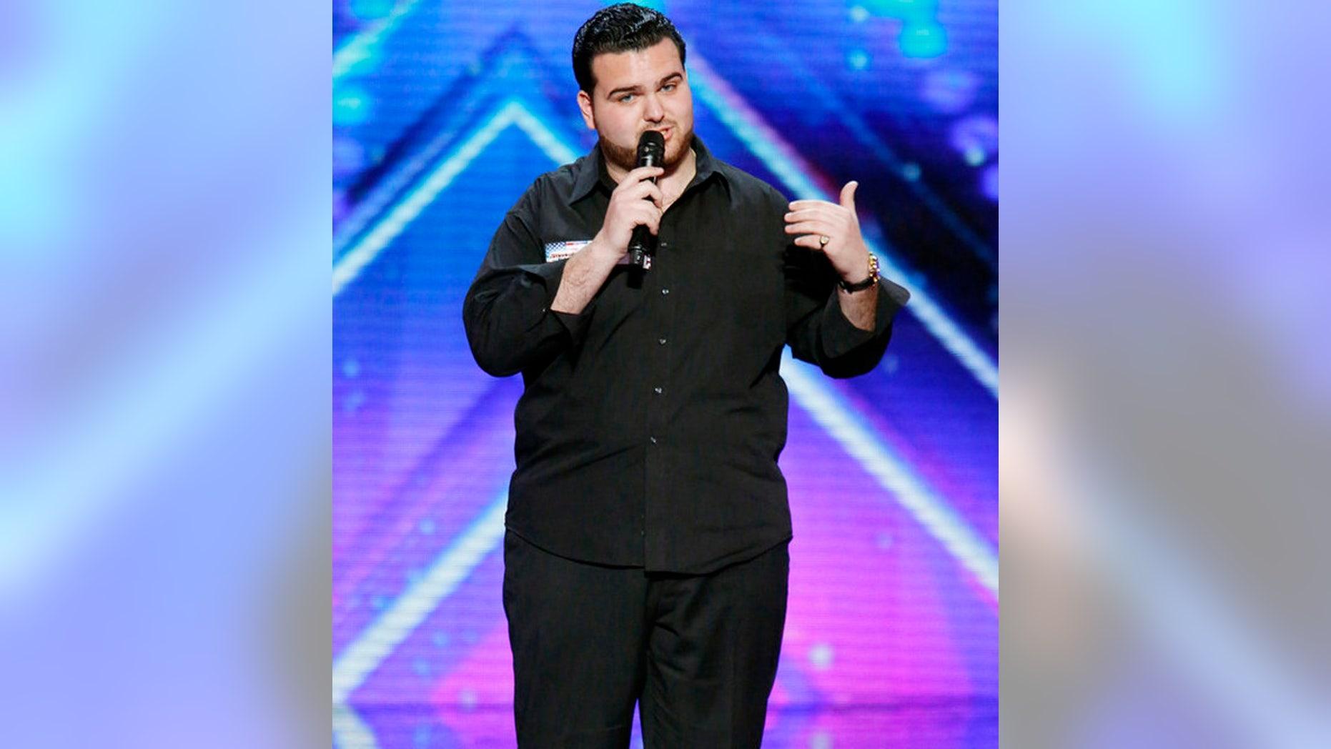 Sal Valentinetti performs on 'America's Got Talent'