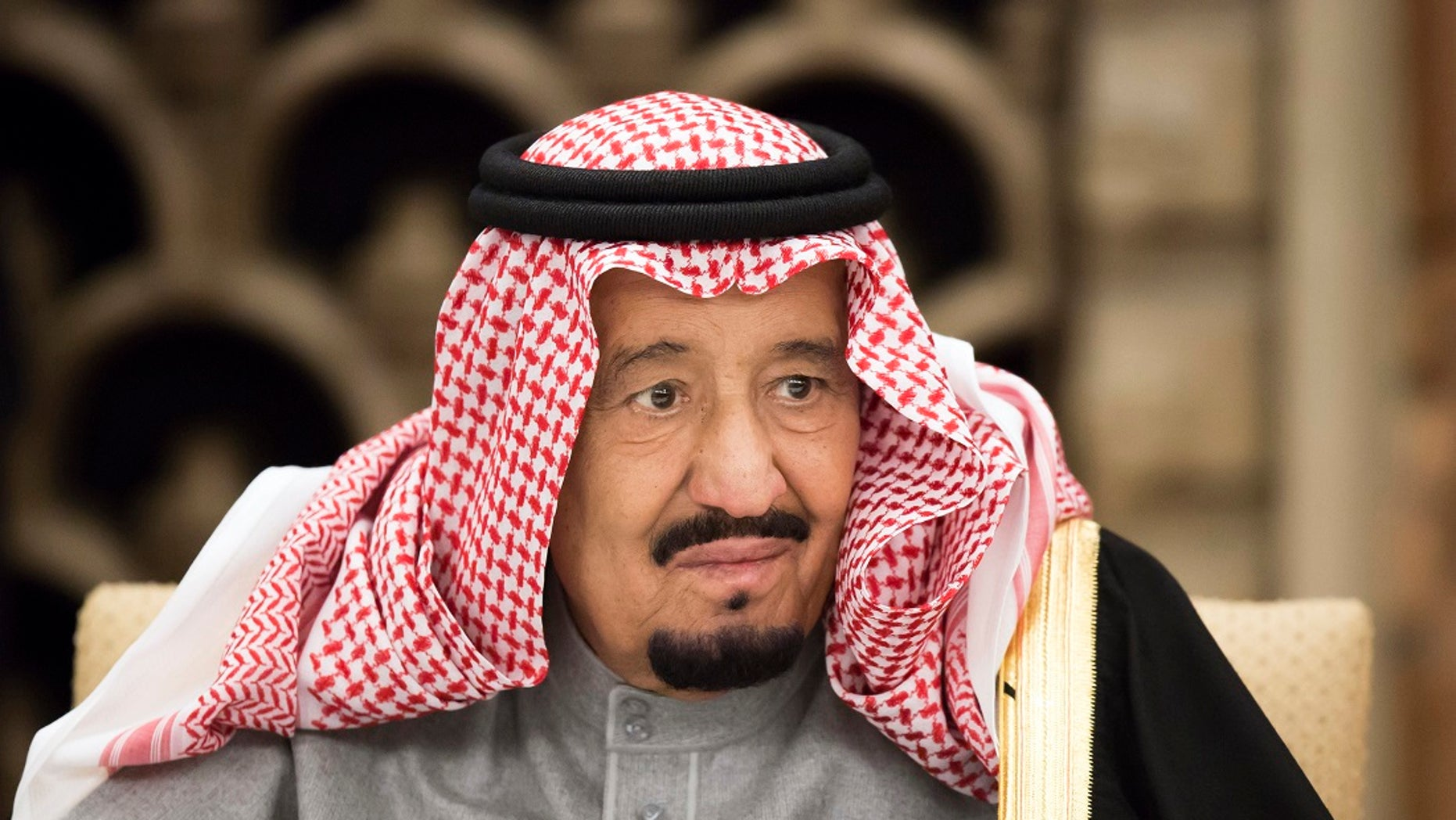 President Donald Trump is scheduled to meet King Salman, pictured in 2013, when he travels to Saudi Arabia as part of his first foreign trip.