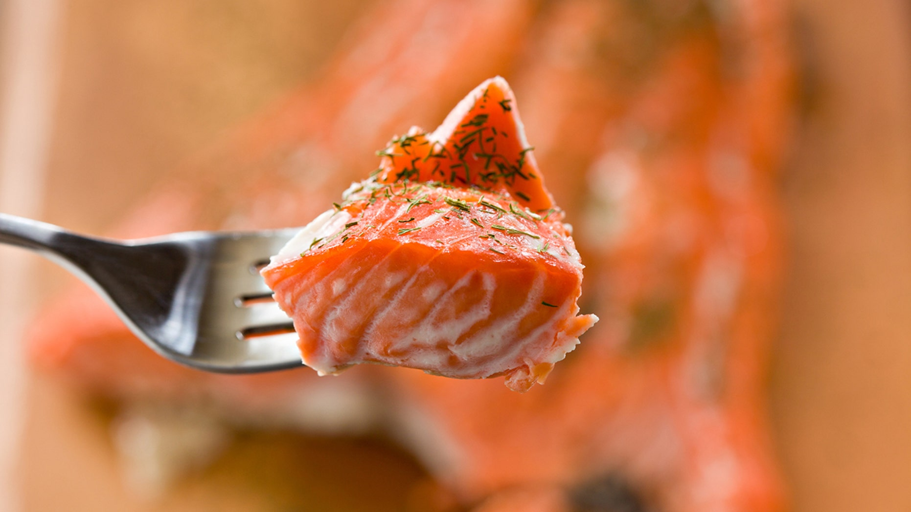 Albumin is a protein present in all salmon. But depending on how it's cooked, it might be more visible.