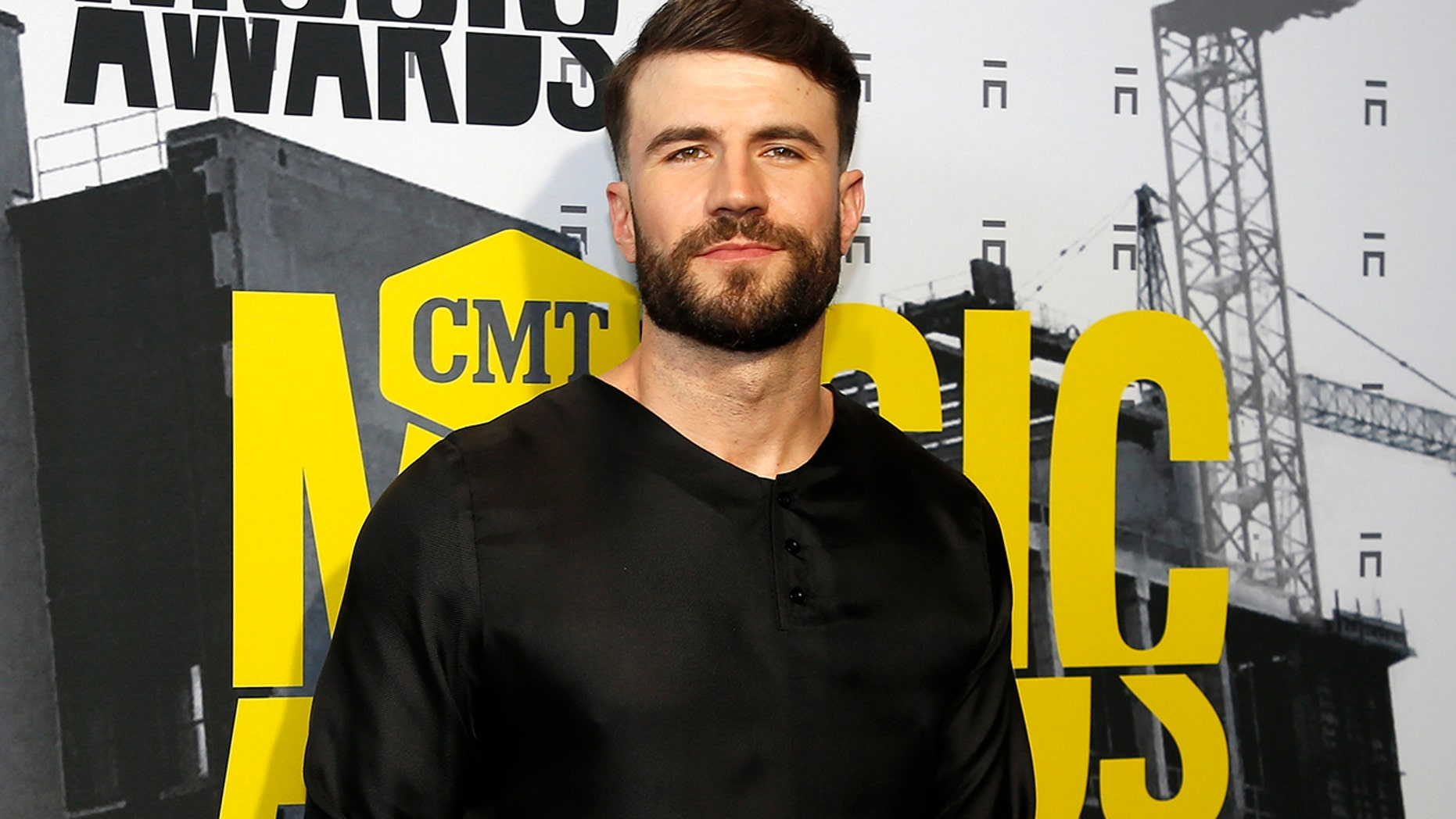 Sam Hunt attends the 2017 CMT Music Awards  in Nashville, Tennessee, on June 6, 2017.