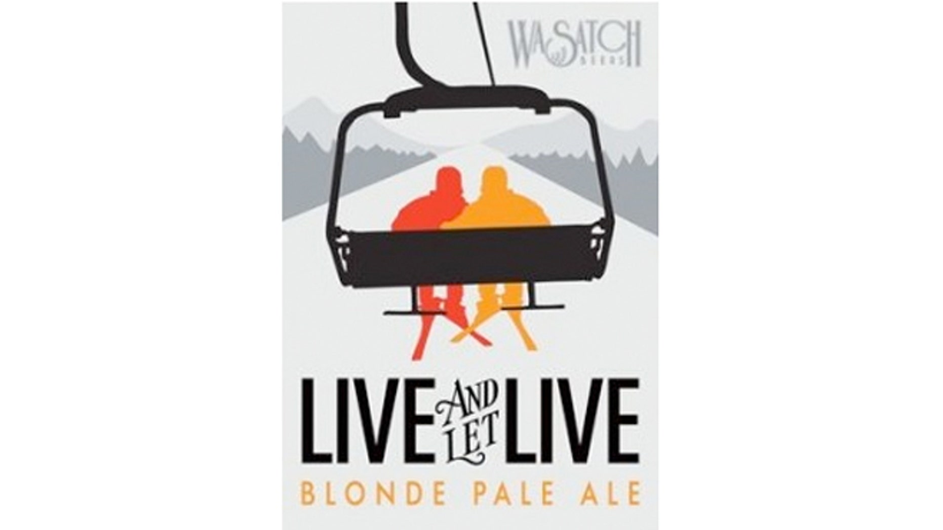 """Live and Let Live is a blonde pale ale made from """"two beautiful malts and two wonderful hops, all fermented with a pair of yeasts."""""""