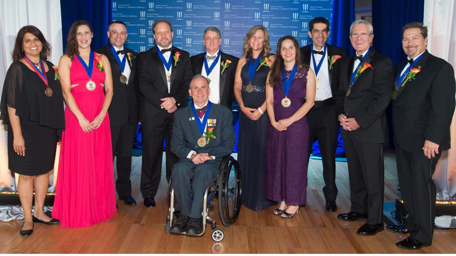 Sept. 27, 2017: The 2017 Samuel J. Heyman Service to America Medals, Washington, D.C.