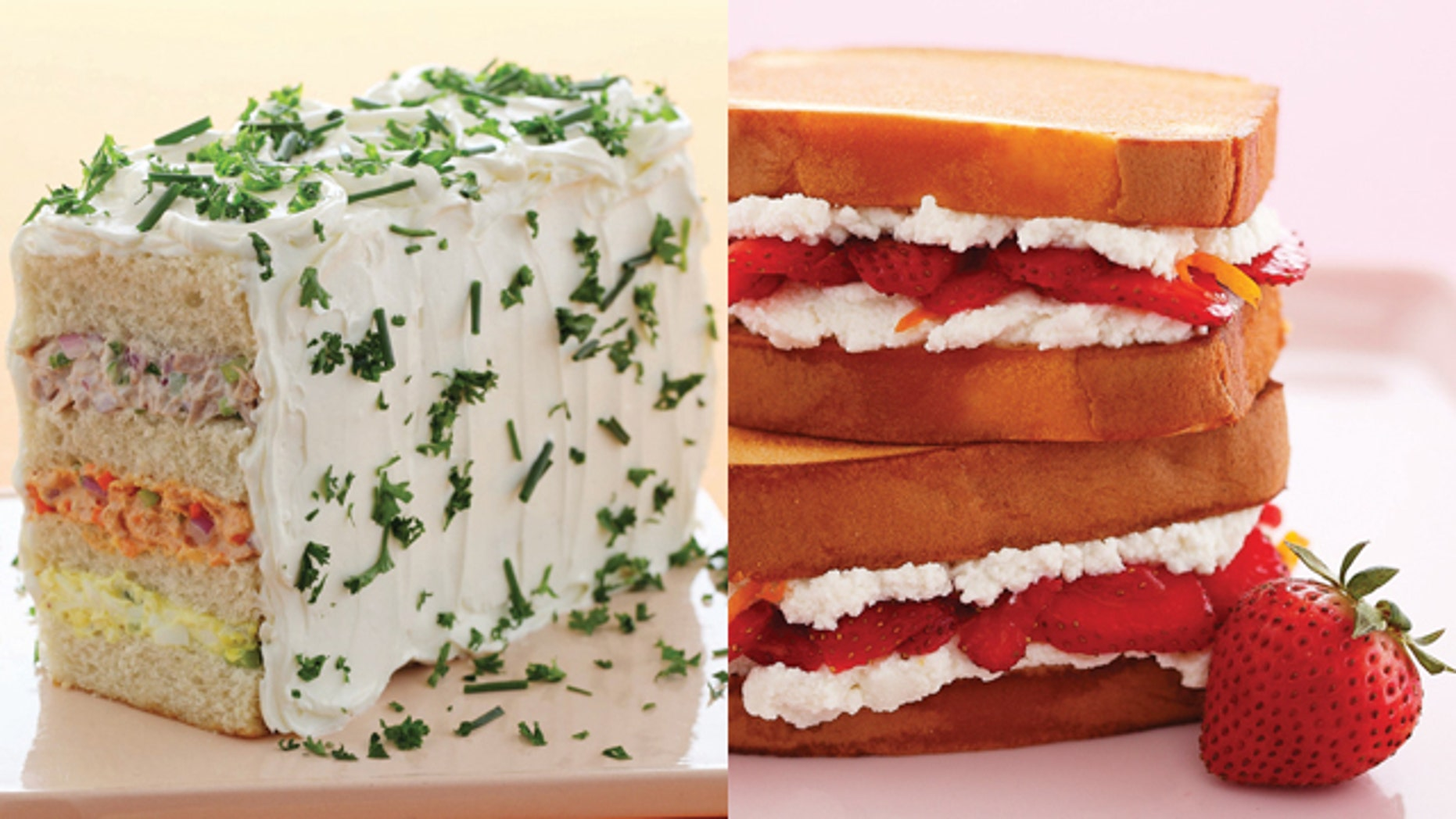 Sandwich Loaf/Pound Cake Sandwich