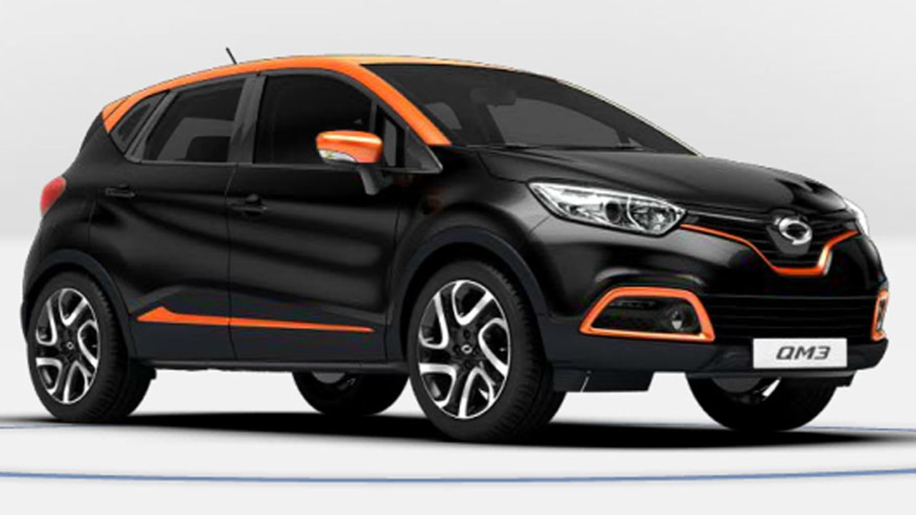 Renault Samsung Motors QM3
