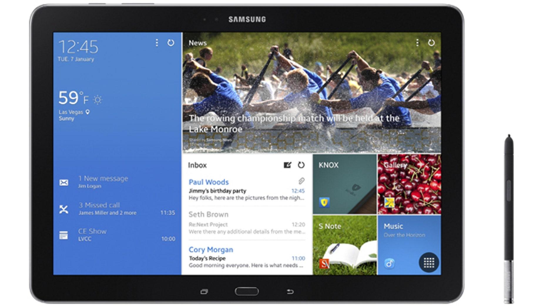 Samsung's GALAXY NotePRO.