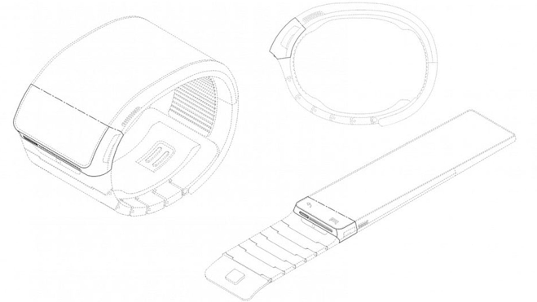 Samsung Electronics Co. has applied for U.S. and South Korean trademarks for a watch that connects to the Internet. (Korean Intellectual Property Office)