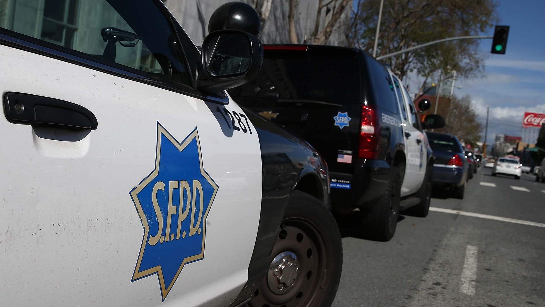 A police officer was one of six people injured Wednesday during a shootout in San Francisco.