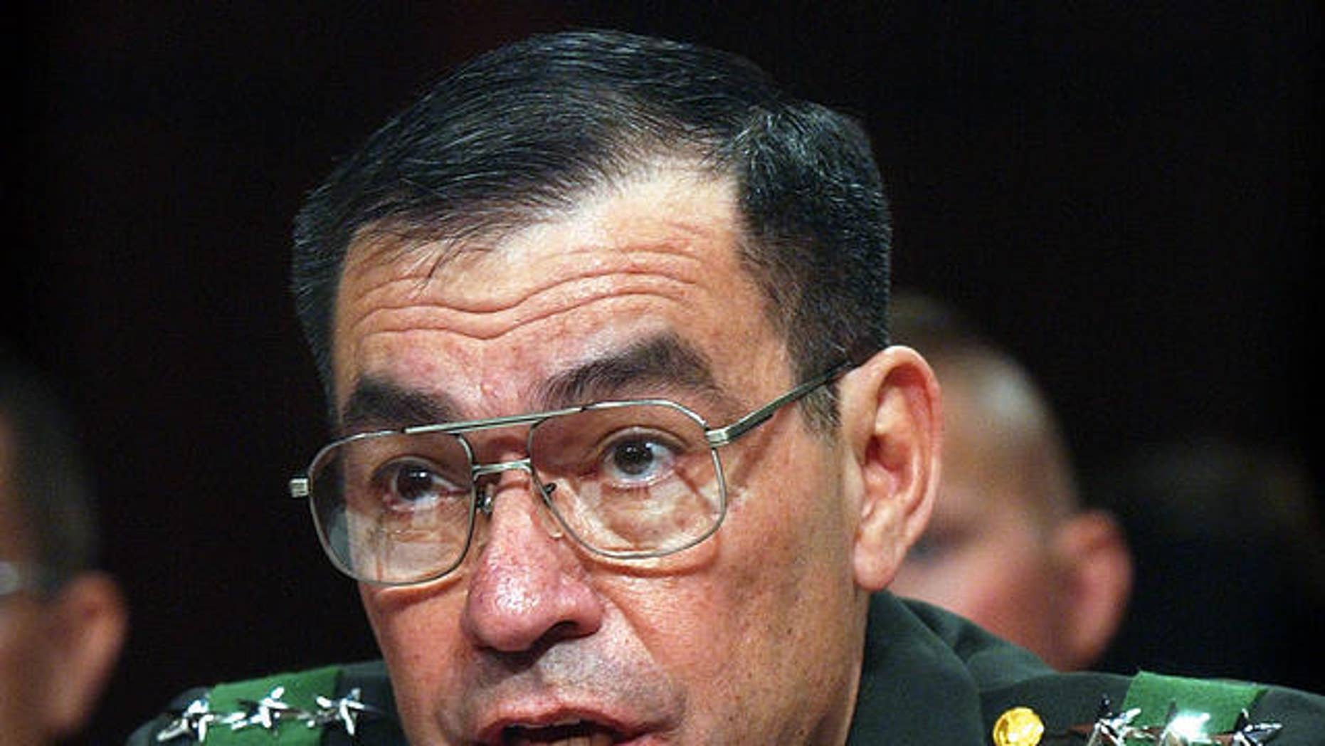 Retired Army Lt. Gen. Ricardo Sanchez