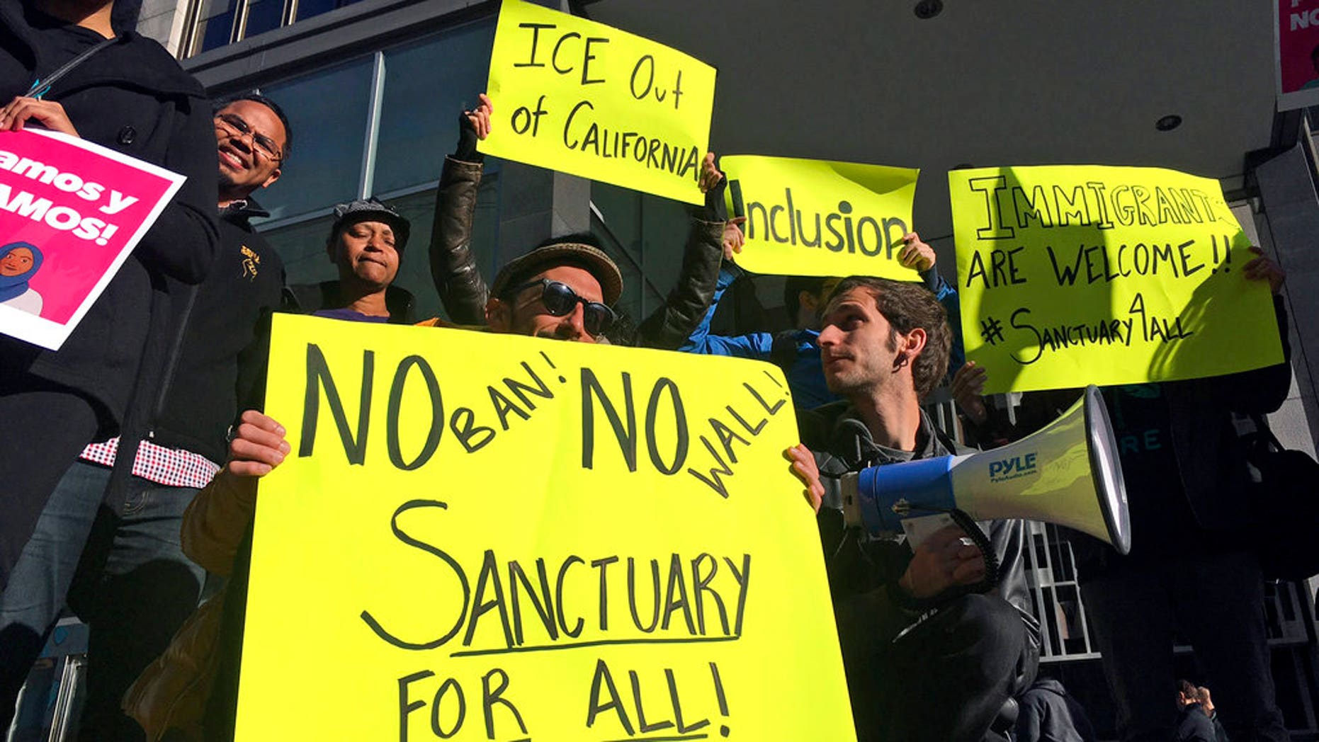 """""""President Trump might be able to tweet whatever comes to mind, but he can't grant himself new authority because he feels like it,"""" San Francisco City Attorney Dennis Herrera said in November, after the city filed a lawsuit against the Trump administration over the president's executive order defunding sanctuary cities."""