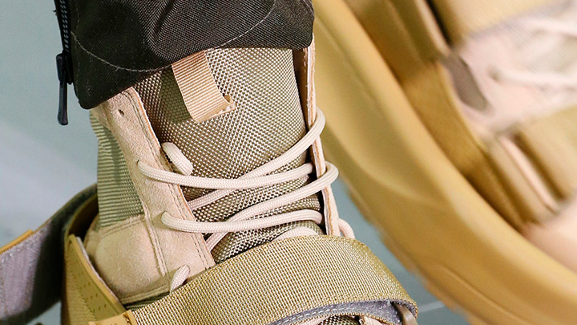 Sankuanz, a Chinese fashion brand, debuted the sandal-like coverings designed to be worn over shoes.