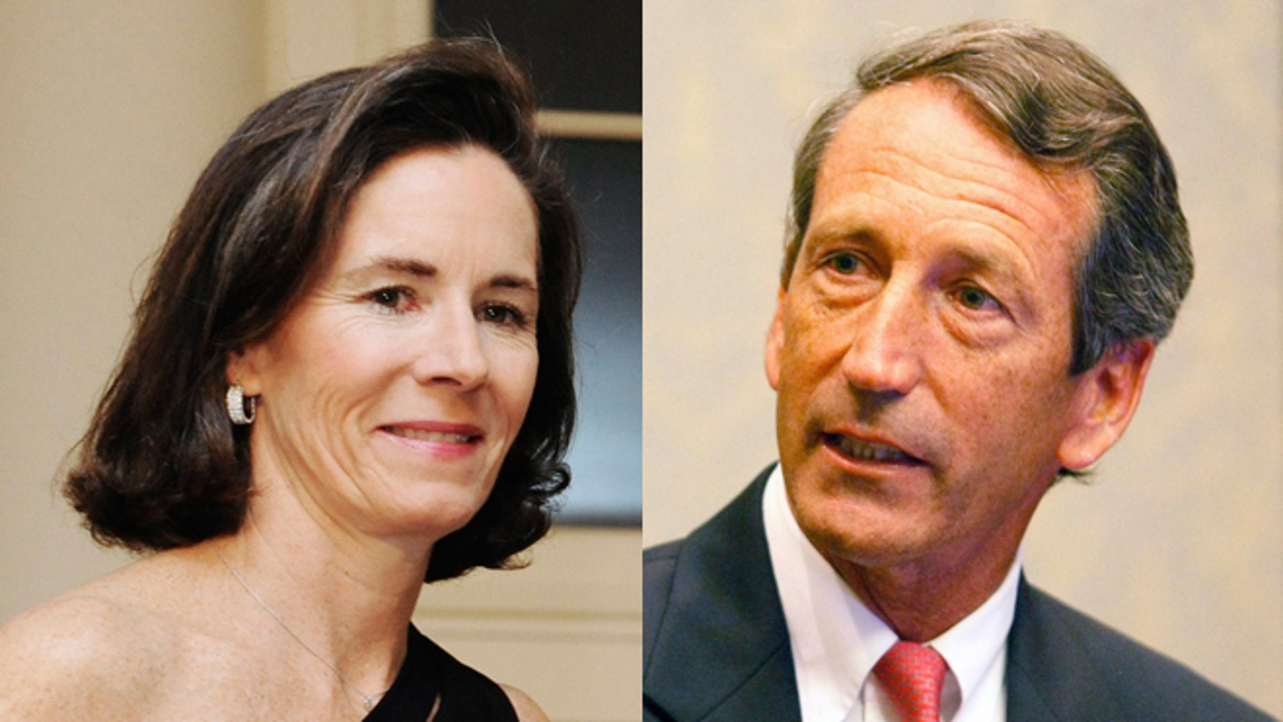 FILE: Undated: Former South Carolina first lady Jenny Sanford and former husband and Gov. Mark Sanford.