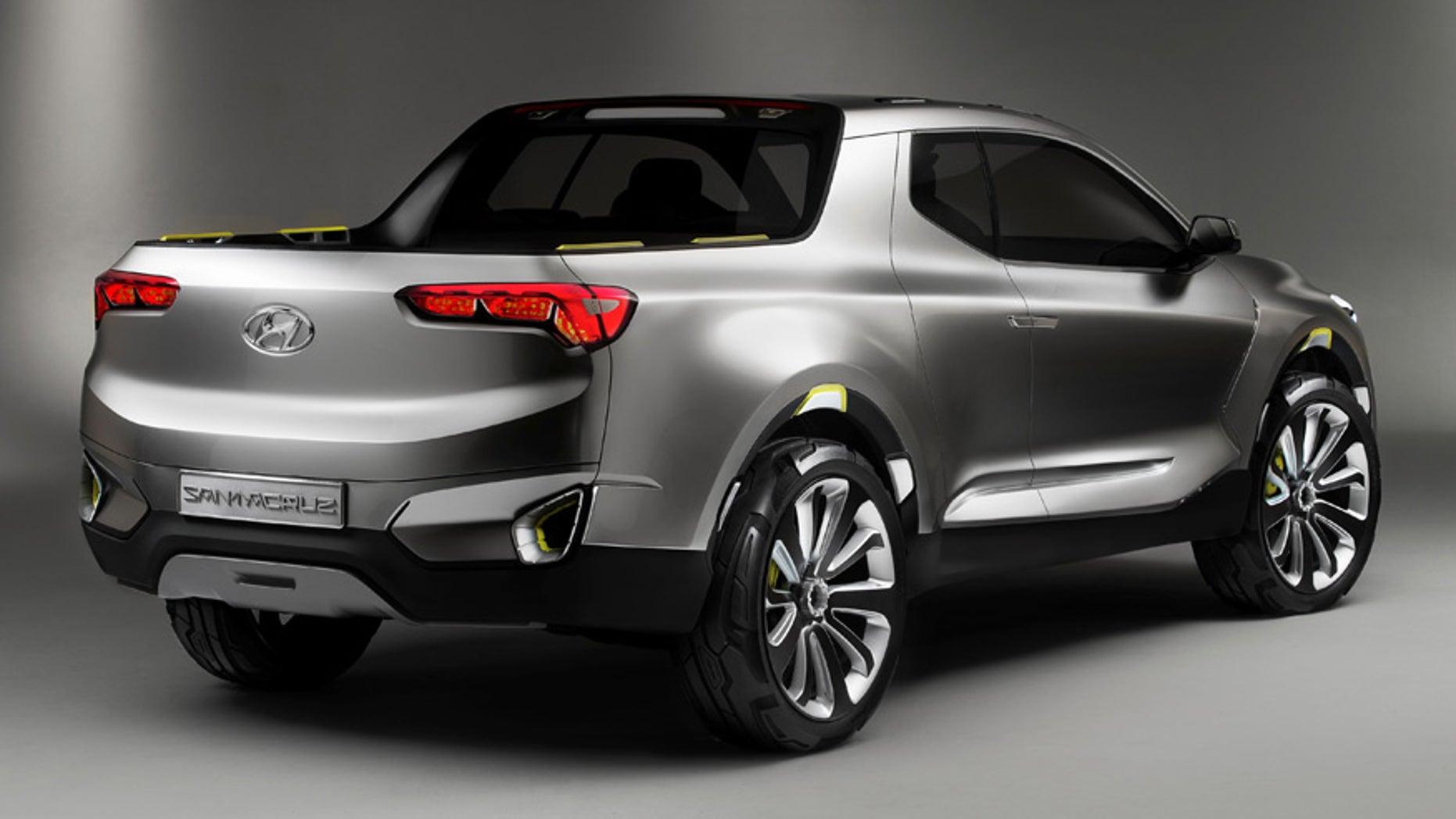 Hyundai Santa Cruz Pickup Getting Hauled Into Showrooms In 2018