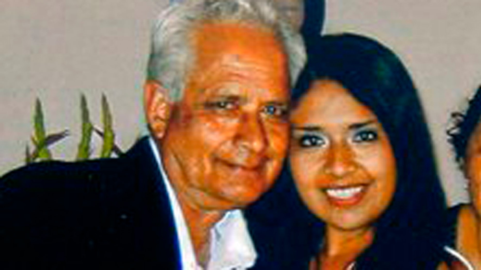 This undated photo provided by the family shows Carlos Navarro Franco and Marcela Franco. Marcela Franco died Sunday, June 9, 2013, after Friday's deadly rampage in Santa Monica, Calif. (AP Photo/Family Photo)