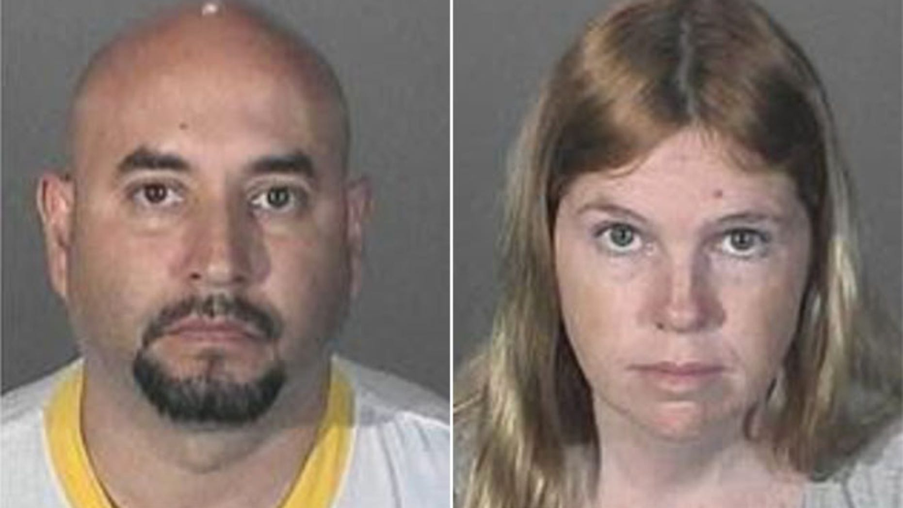 Suspects Francisco Avendano and Jacqueline Wadsworth (LA County Sheriff's Office)