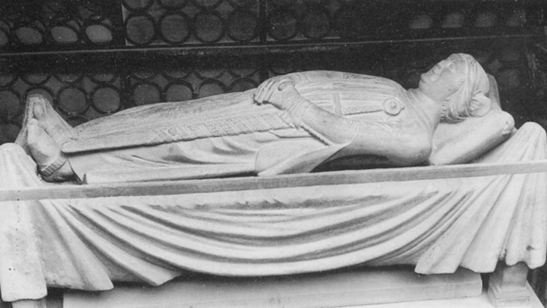 Cangrande's carefully carved sarcophagus was opened so that his body could be studied by scientists.