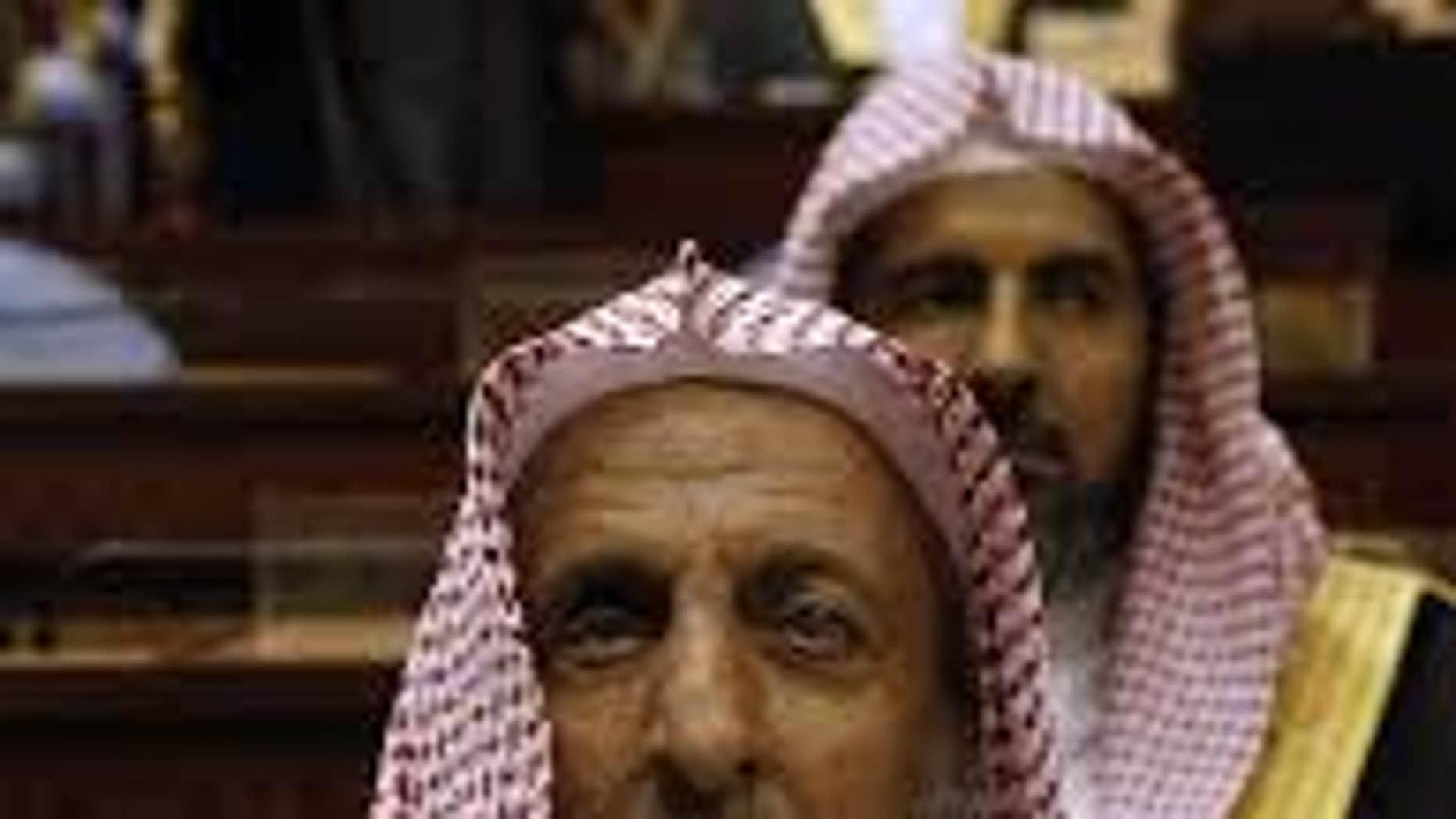 Sheikh Abdul Aziz al-Sheikh in 2009.