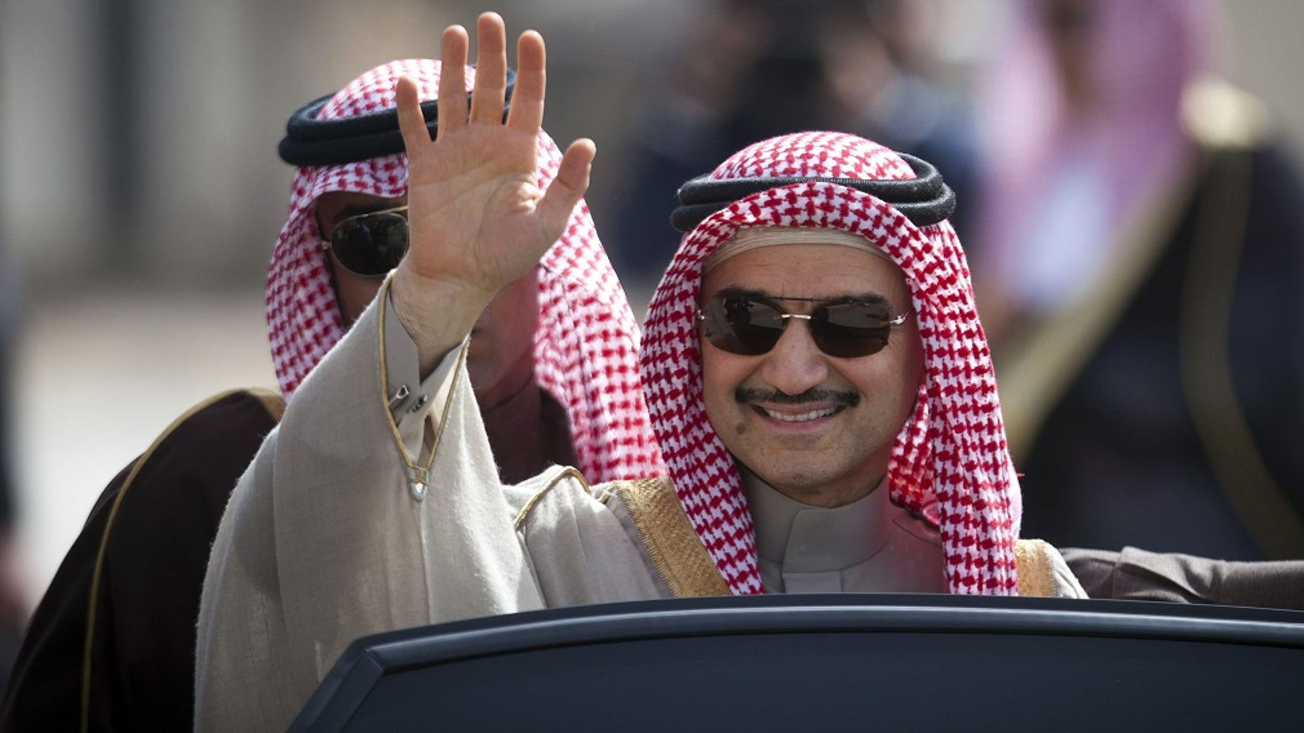 Saudi billionaire Prince al-Waleed bin Talal was released by authorities Saturday, Jan. 27, 2018.