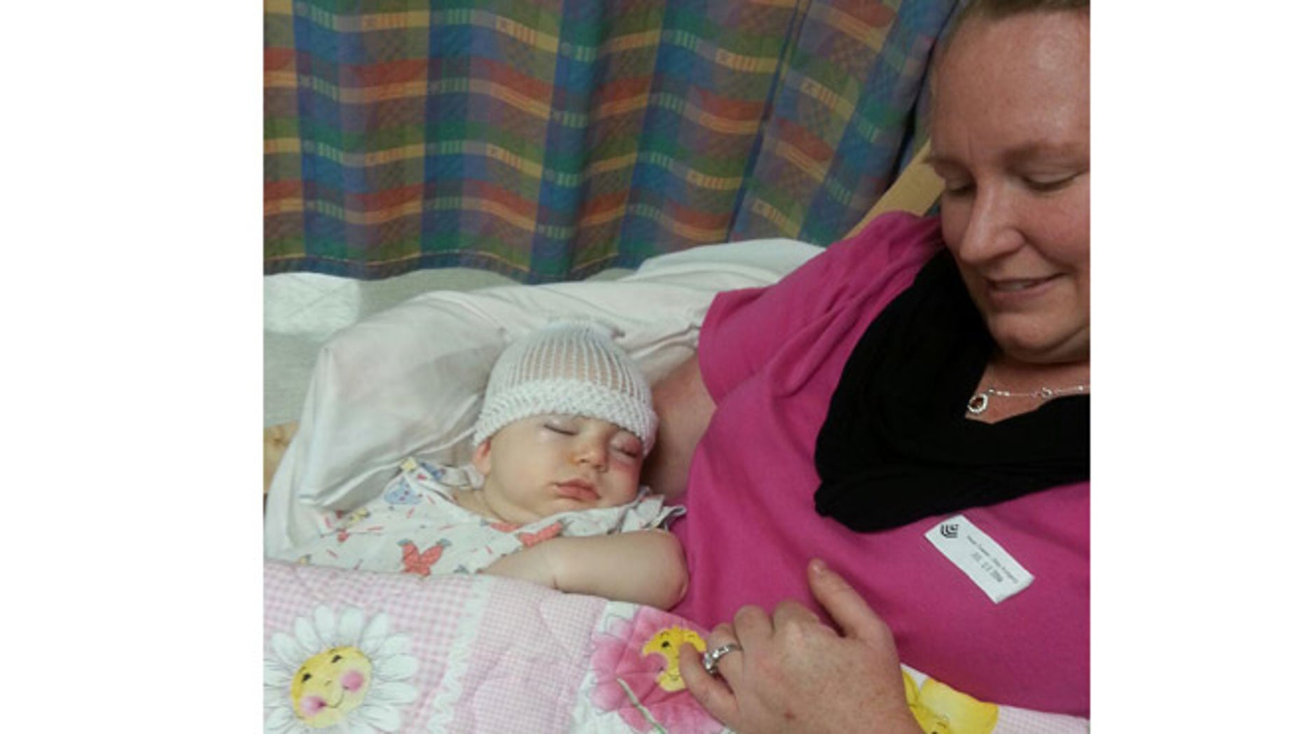 July 12, 2014: Savannah Snodgrass, of Georgetown, Texas, is pictured here recovering after surgery. Courtesy: Tessa Snodgrass