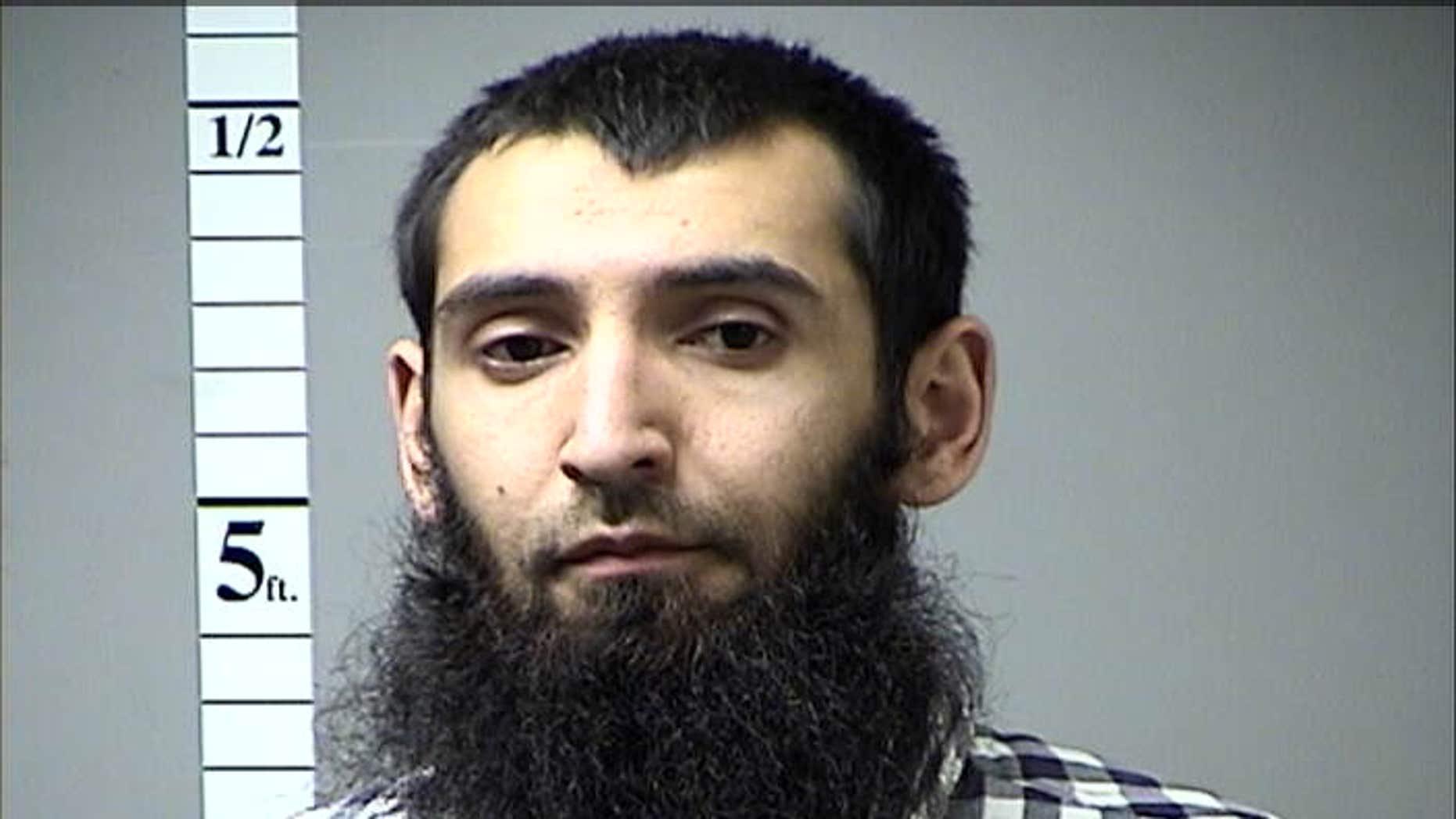 29-year-old terror suspect Sayfullo Saipov