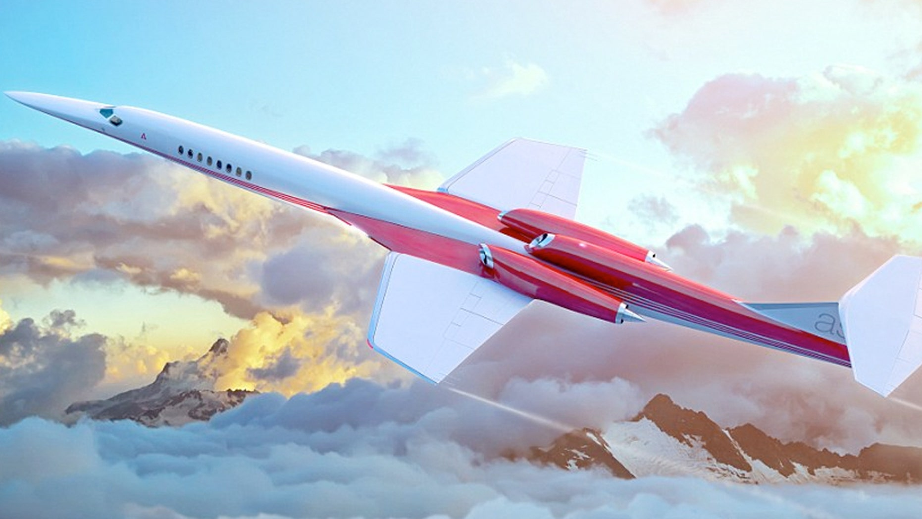 The Aerion AS2 business jet will fly at a top speed of 1,217 mph --which is almost as fast as Concorde, which flew at 1,350 mph.