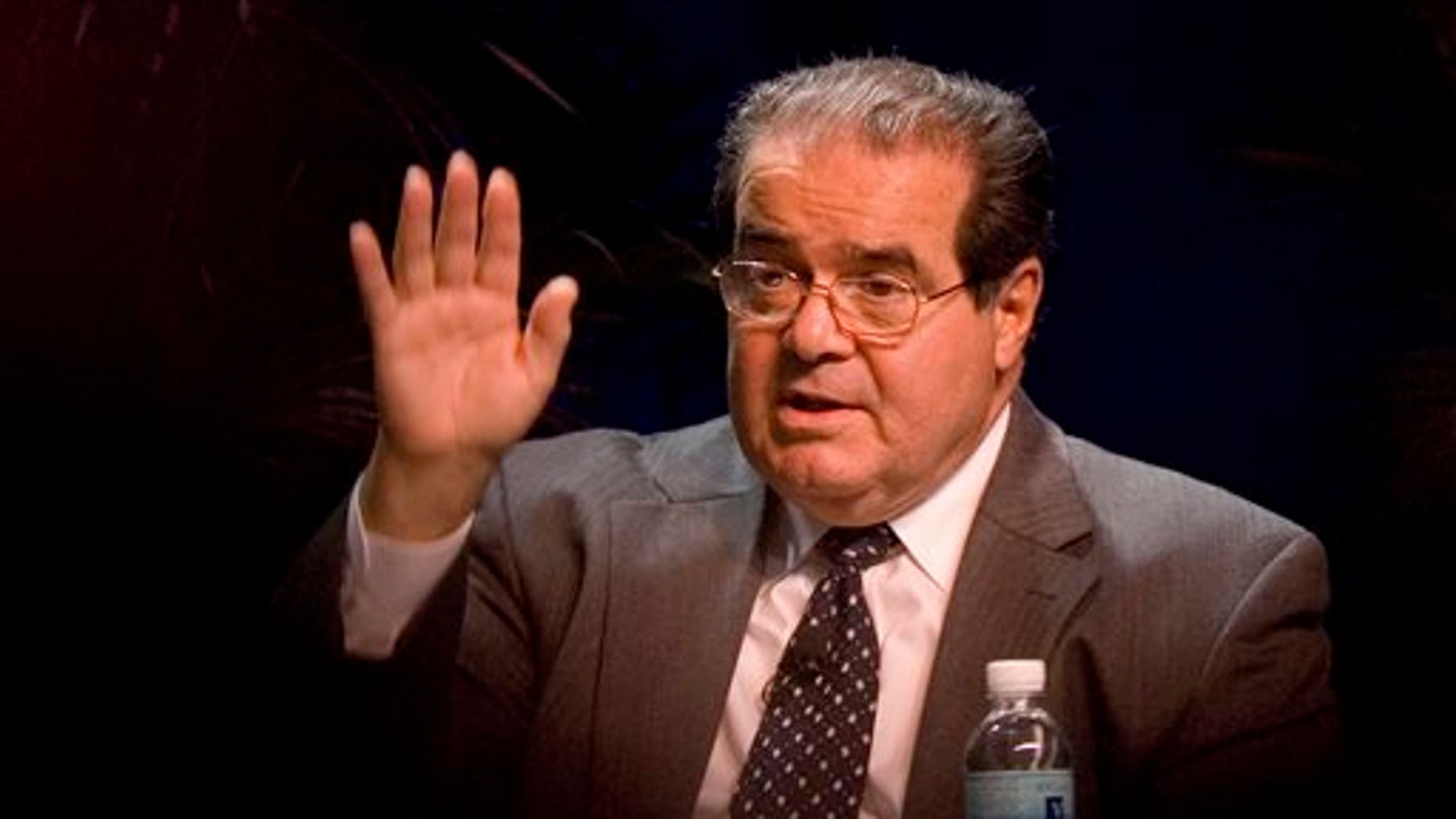 Supreme Court Associate Justice Antonin Scalia speaks at the ACLU Membership Conference in Washington on Oct. 15, 2006. (AP Photo/Chris Greenberg, File)