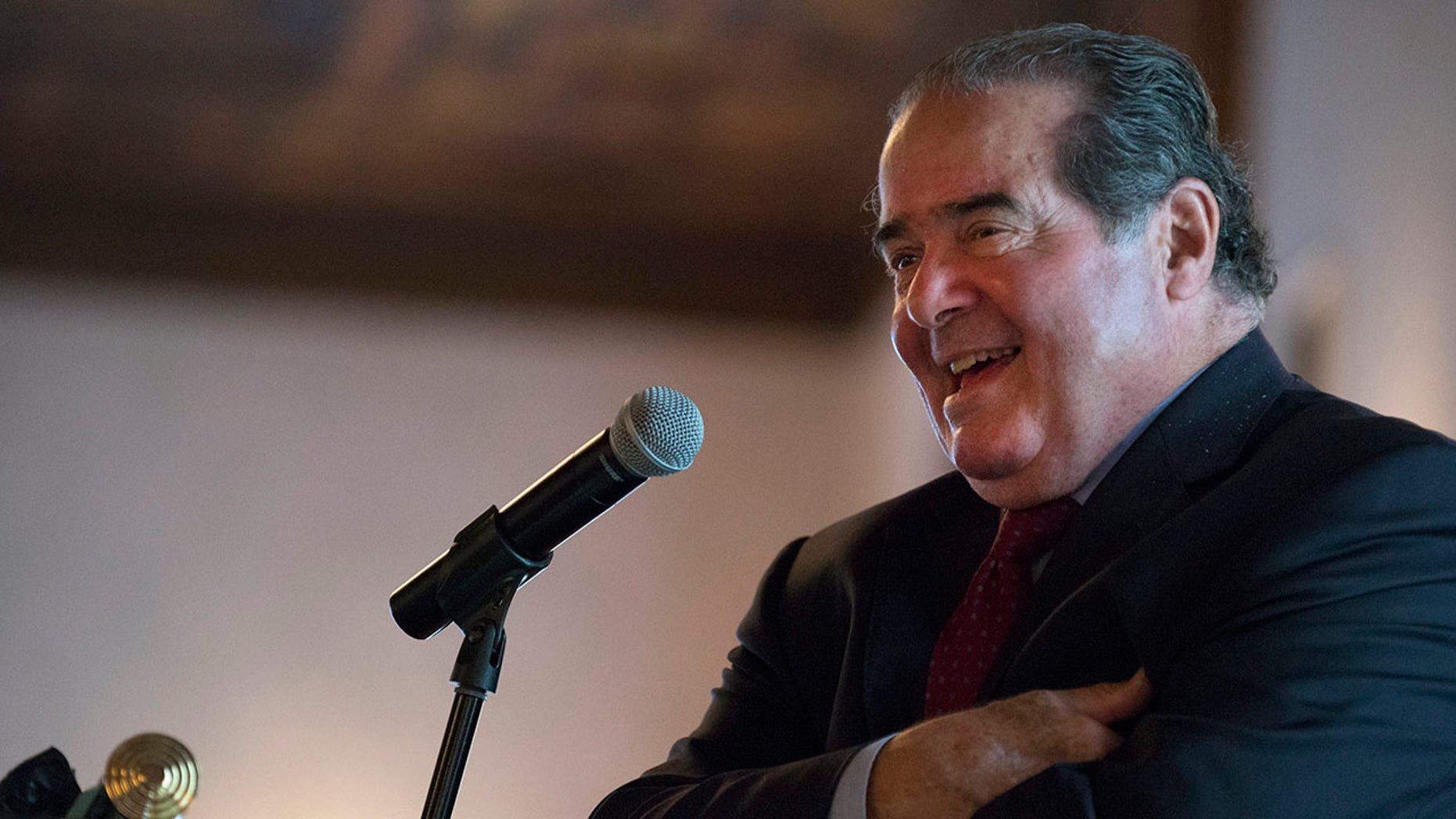 Justice Antonin Scalia was reportedly 'enthusiastic' about a Trump presidential run.