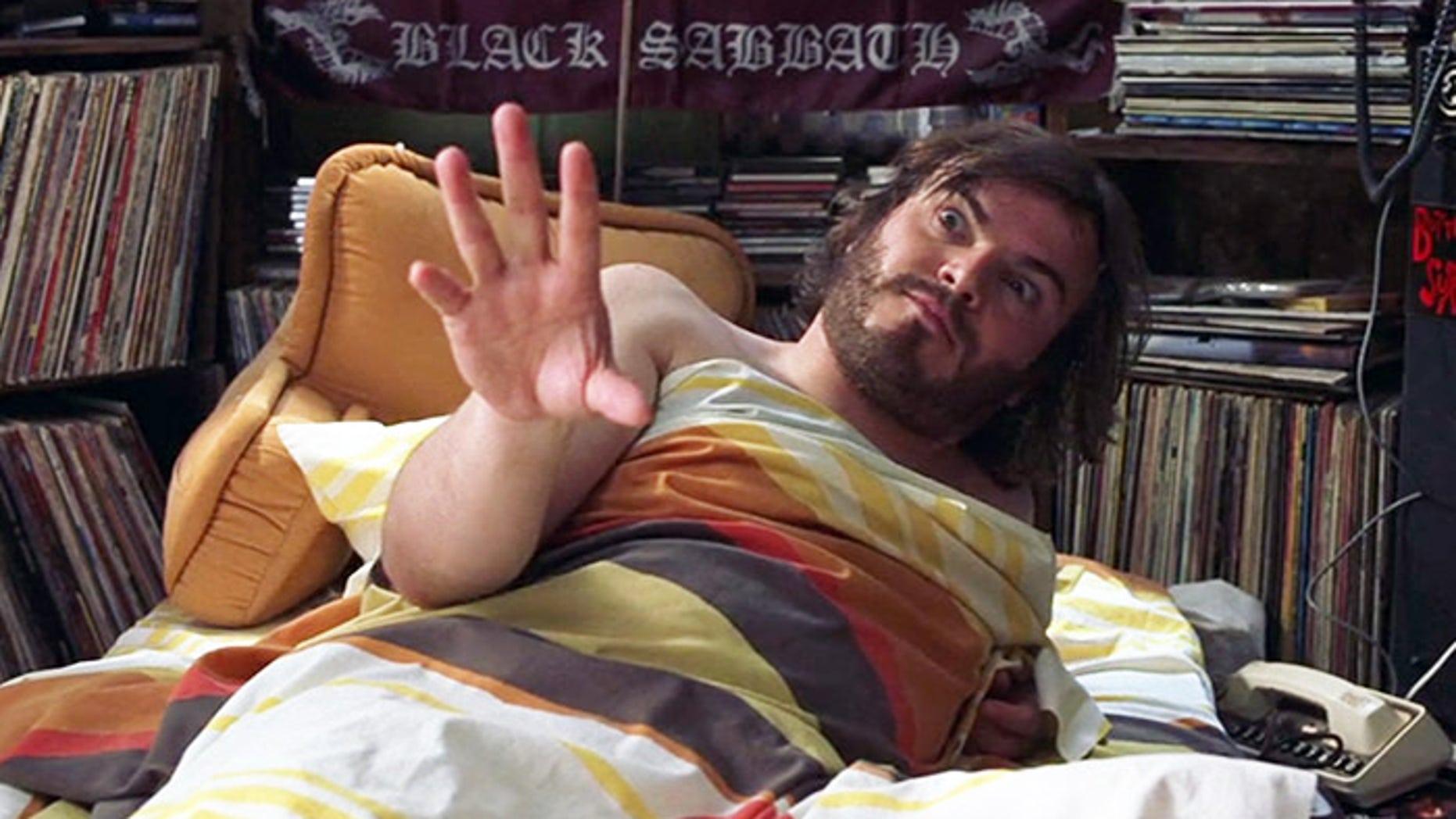 Bad roommate Jack Black