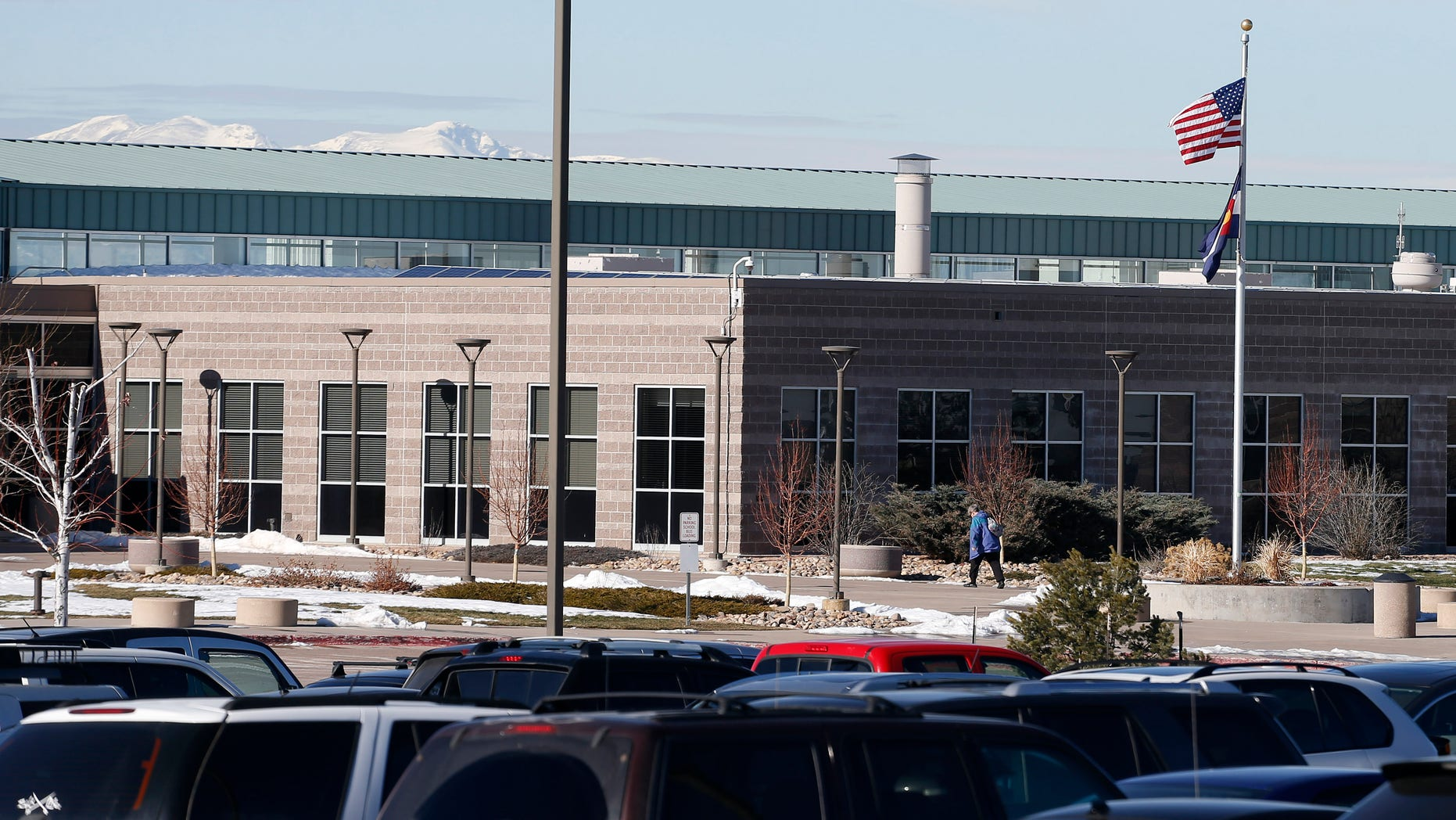 Mountain Vista High School is located in Highlands Ranch, Colo.