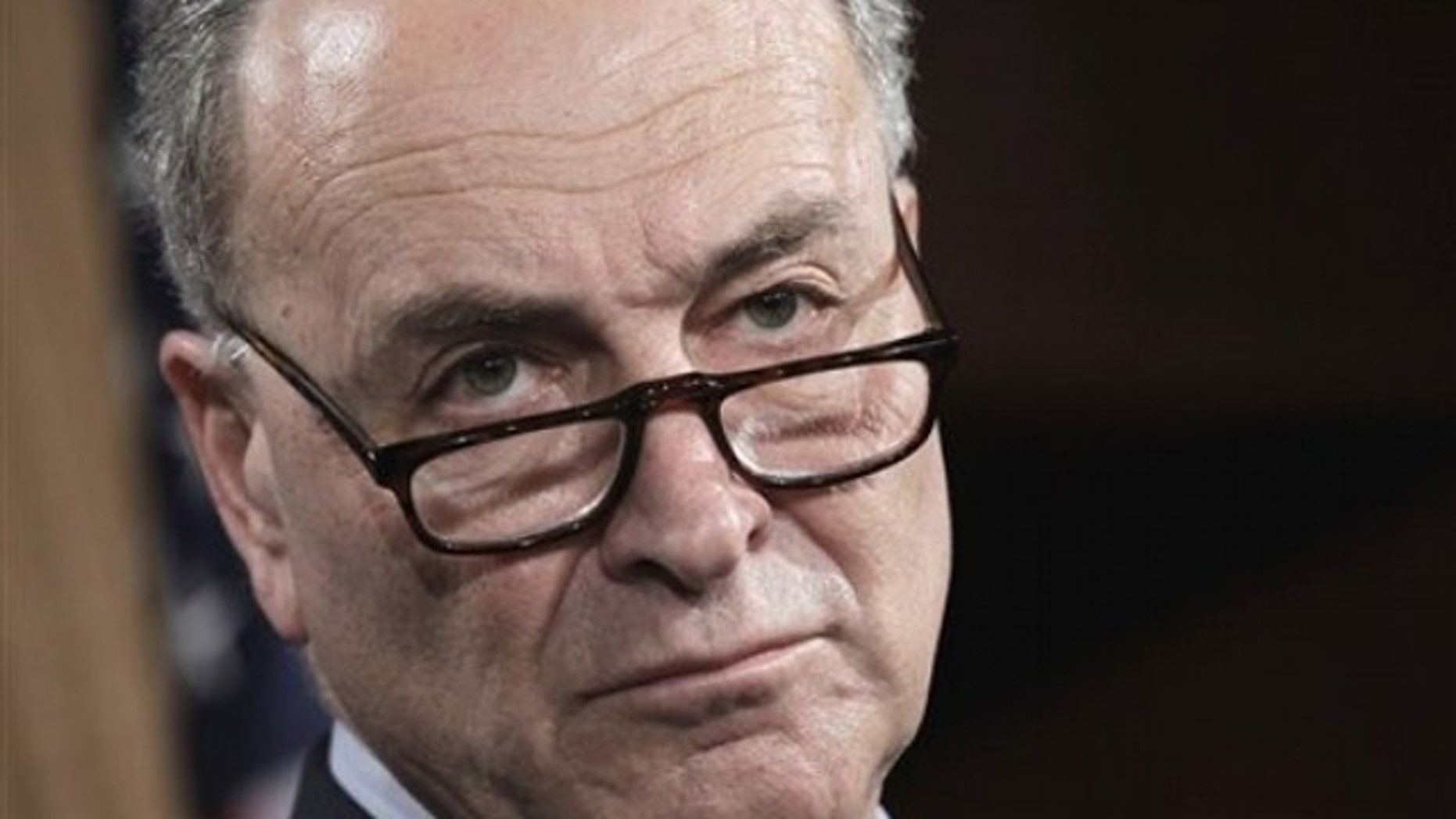 """Sen. Charles """"Chuck"""" Schumer (D-N.Y.)"""