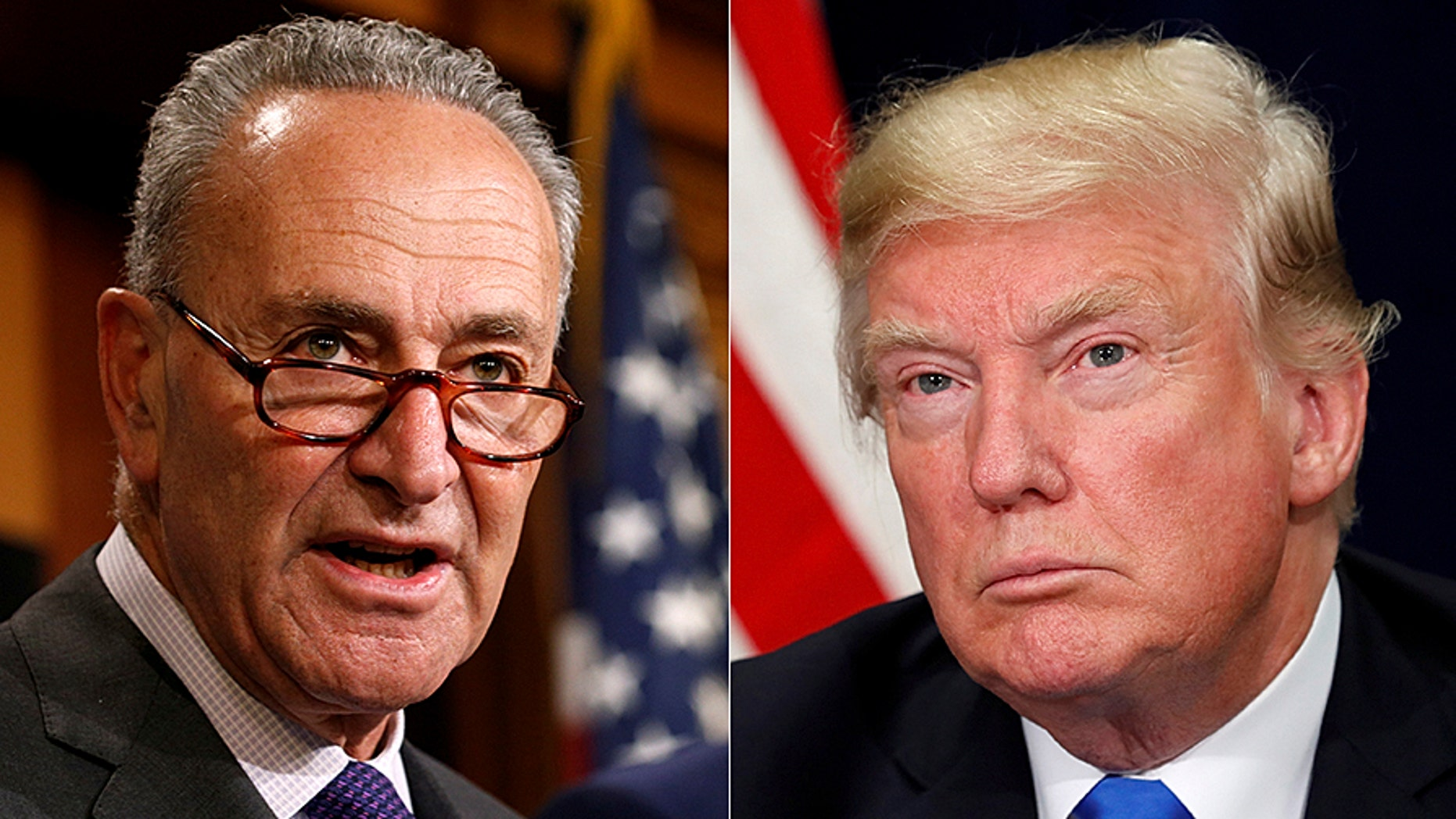 """Senate Minority Leader Chuck Schumer is hitting President Trump for """"politicizing"""" the terror attack in New York City – though the Democrat did the same thing after last month's grisly Las Vegas massacre when he called for new gun control measures."""
