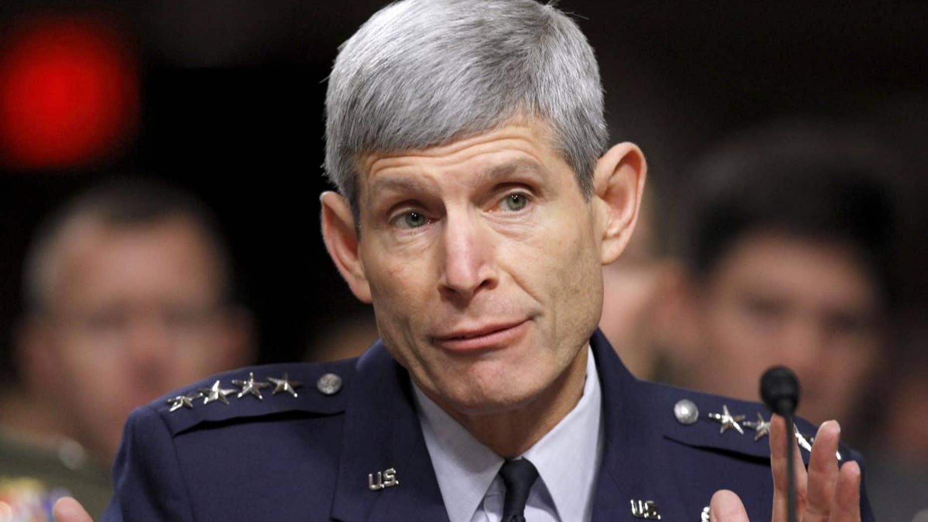 Air Force Chief of Staff Gen. Norton Schwartz (AP FILE Photo/Alex Brandon)