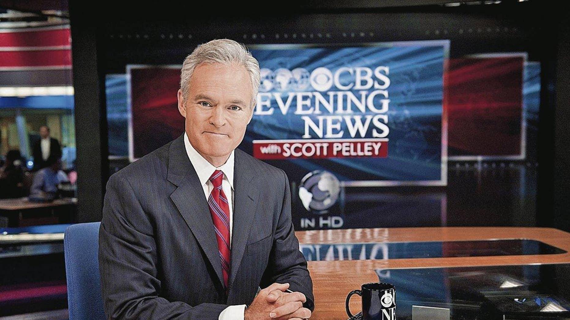 """Scott Pelley on """"CBS Evening News."""""""