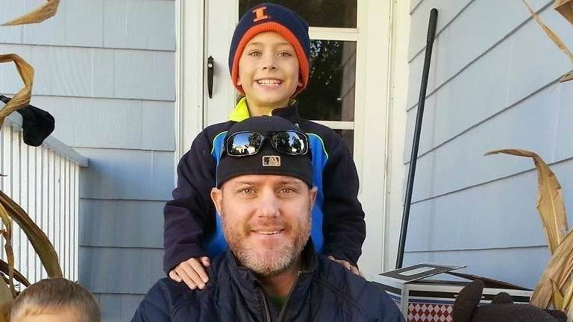 Scott Johnson was diagnosed with stage 4 colorectal cancer in April 2015.