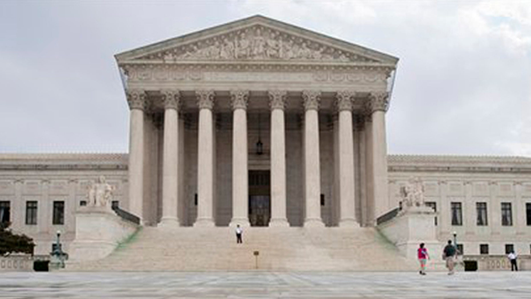 In this Sept. 28 photo, the front of the U.S. Supreme Court is seen in Washington.