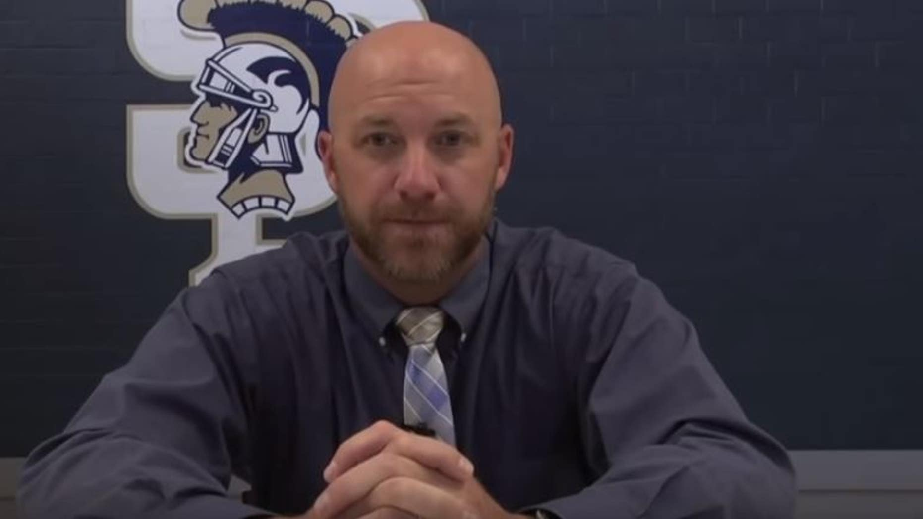 """Jared Hensley, a high school athletic director in Tennessee, was placed on leave Wednesday after saying girls """"pretty much ruin everything"""" in a video addressed to students."""