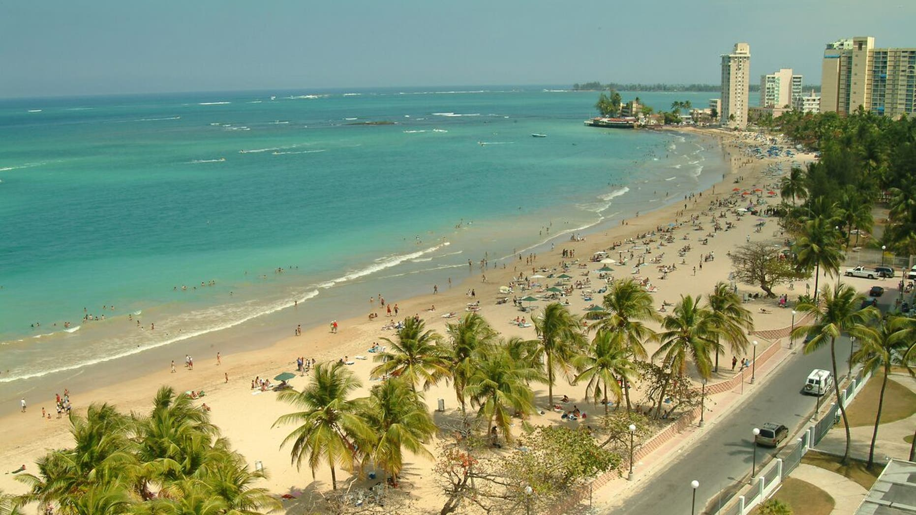 Playa Isla Verde is Puerto Rican paradise close to the runway.