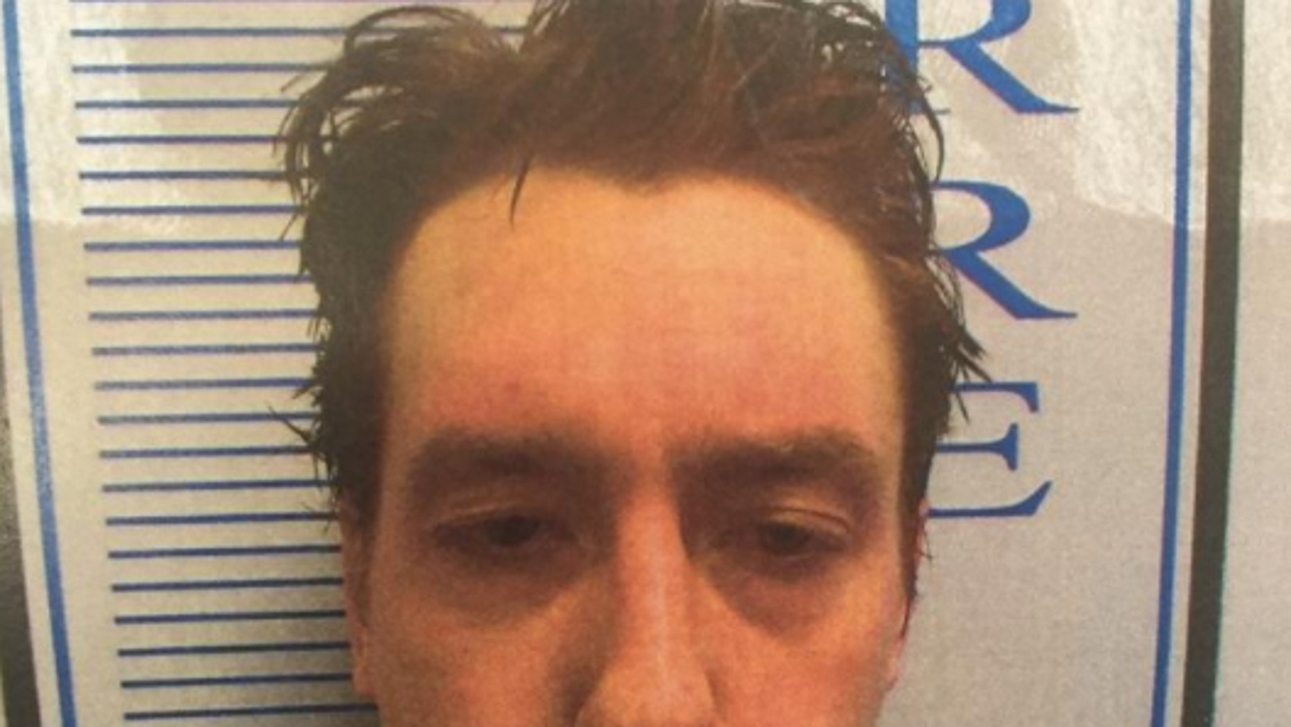 Police say Sean Coulson, 30, burst into his former place of employment to rob the place, then later tried to claim it was a joke.