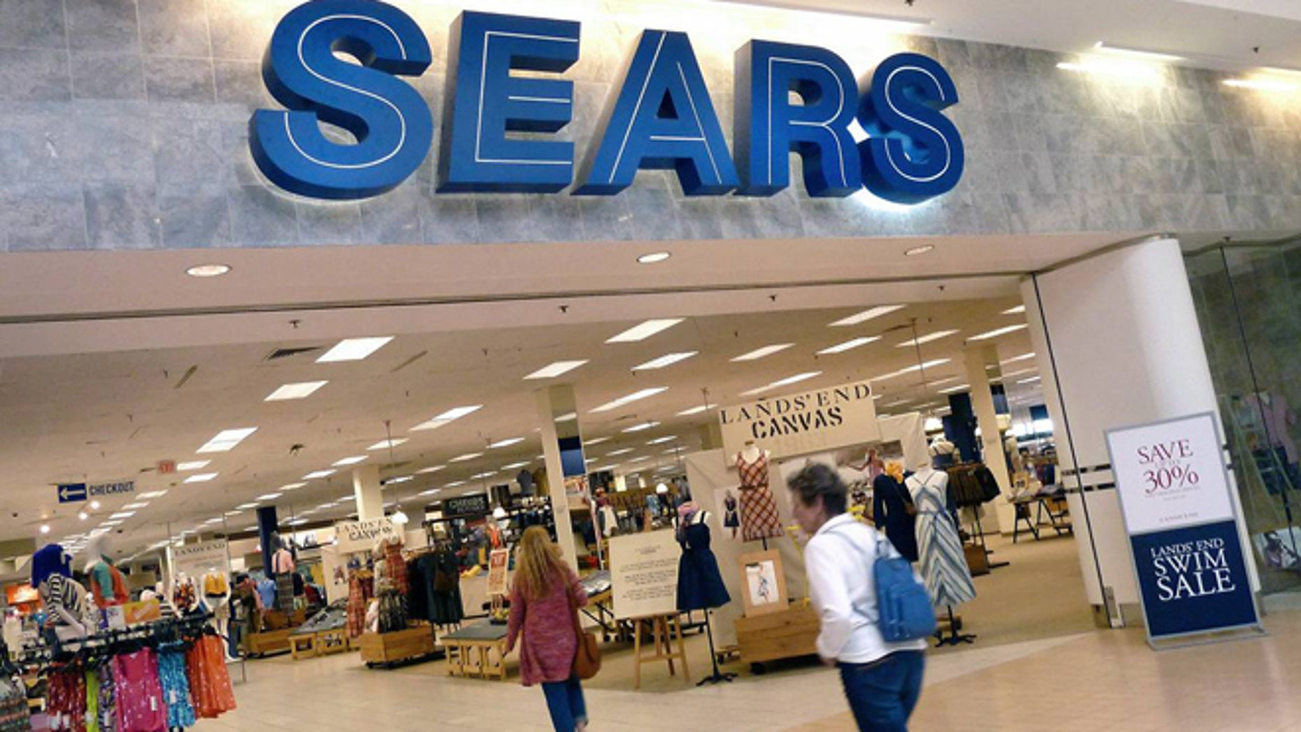 A Sears store is shown. (Associated Press)