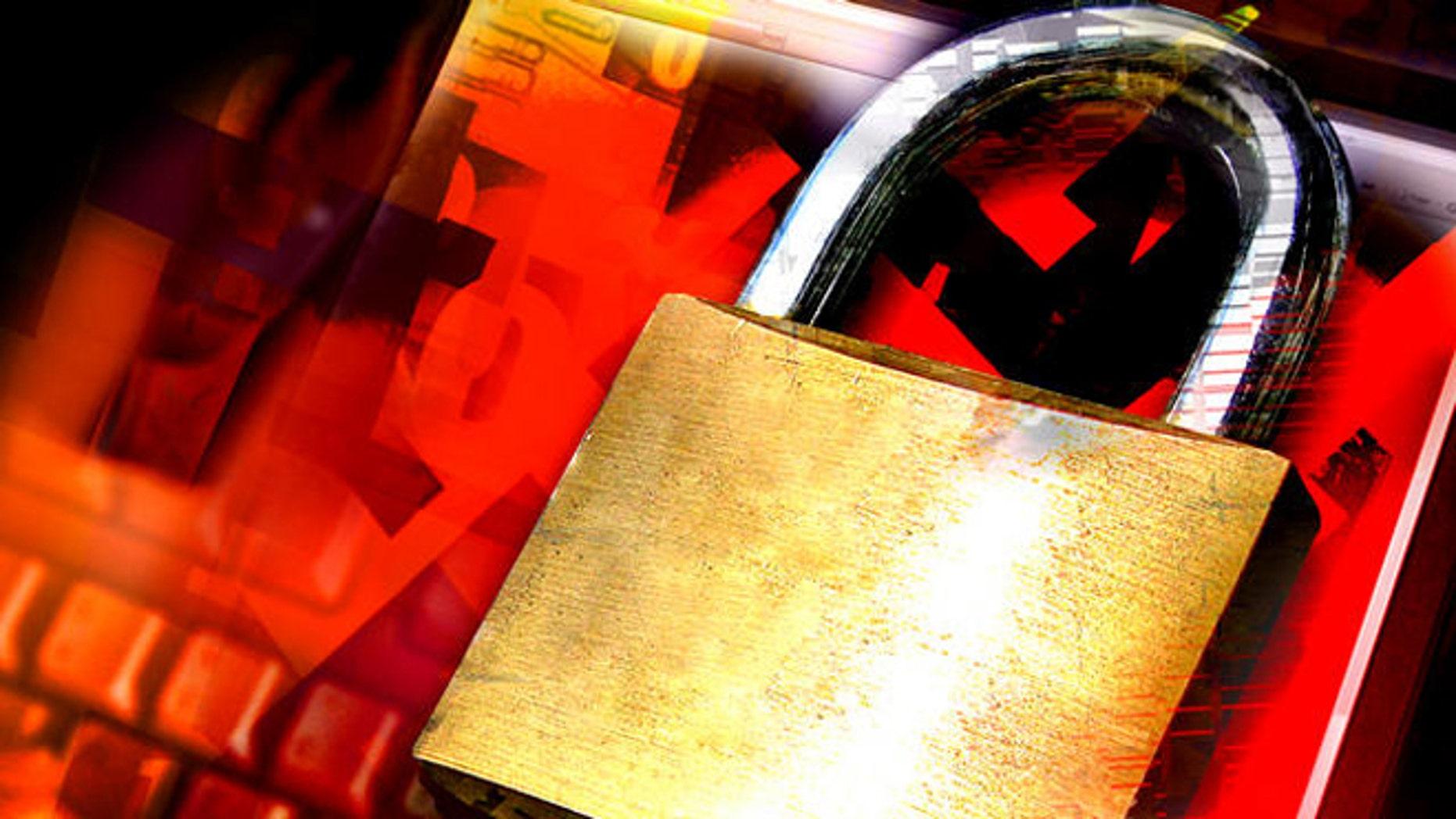 Schloesser mit den Namen von etlichen Liebespaaren sind  am Donnerstag, 23. April 2009, am Gitter der Hohenzollernbruecke in Koeln zu sehen. Seit Silvester 2008 haben Paare hier ihre Liebe manifestiert und aller Welt kundgetan, indem sie ein Schloss mit ihren Namen an der Bruecke befestigt haben.  Bei dem Schloesser-Trend handelt es sich um einen Brauch aus Italien. In Rom befindet sich eine alte Bruecke, die Milvische Bruecke, die ueber den Tiber fuehrt. Diese Bruecke ist ein regelrechter Wallfahrtsort fuer verliebte Paare. Dort werden Schloesser, auf denen die Namen des Paares eingraviert sind, an der Bruecke fest gekettet und der Schluessel wird in den Tiber geworfen. Dieser Brauch soll die Haltbarkeit der Liebe untersuetzen. (AP Photo/Roberto Pfeil) --Padlocks with the engraved names of lovers are fixed to the fence at the Hohenzollern Bridge in Cologne, western Germany, Thursday, April 23, 2009. In an old ritual, padlocks with lovers names on it are fixed at the Milvian bridge in Roma, Italy, and the keys are thrown into the Tiber river to symbolize endless love. (AP Photo/Roberto Pfeil)