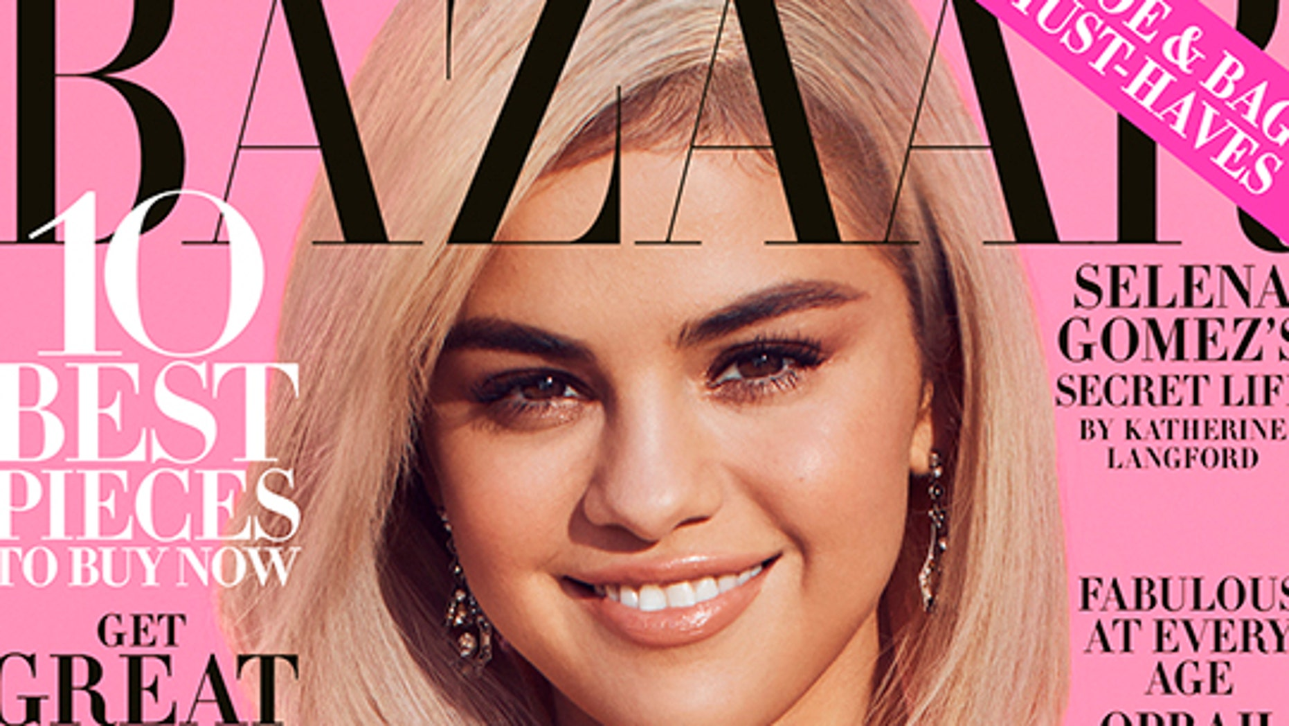 Selena Gomez graces the cover of Harper's Bazaar.
