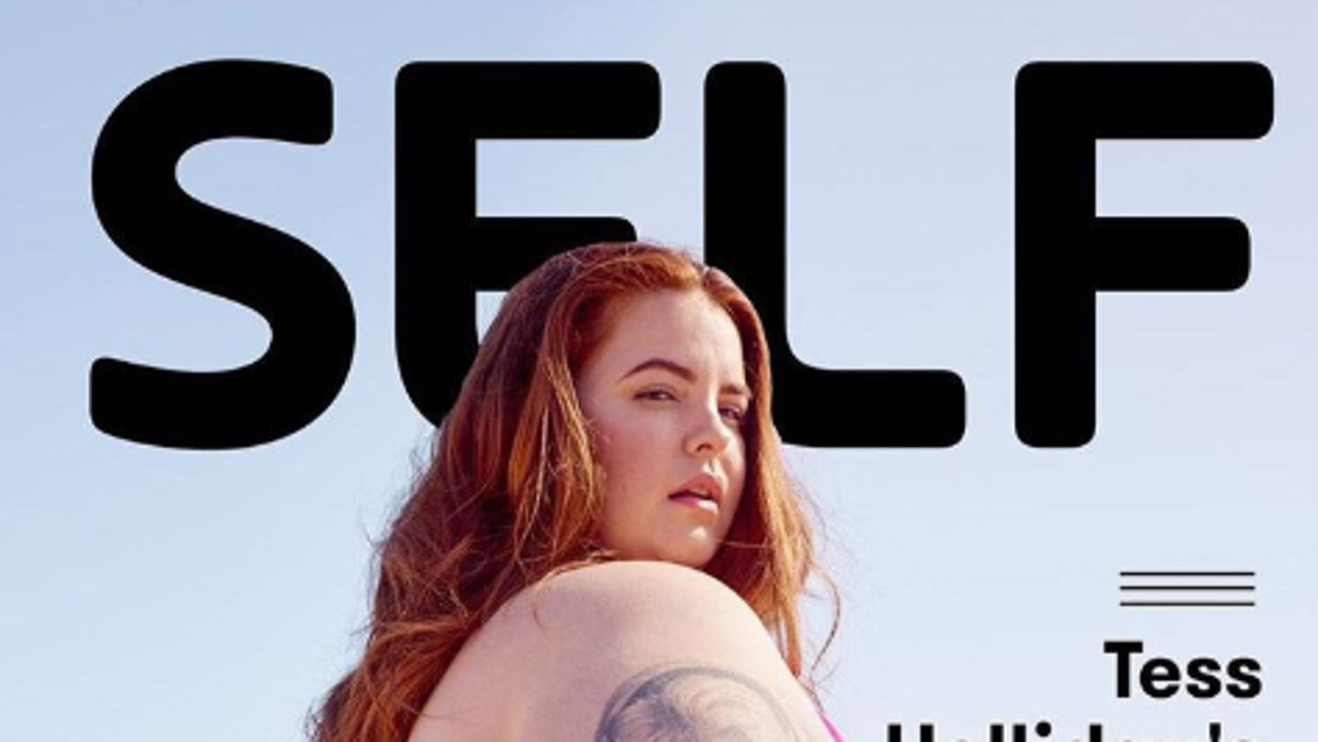 Self Magazine Debuted Its First Digital Cover This Week Which Showed Plus Size Model