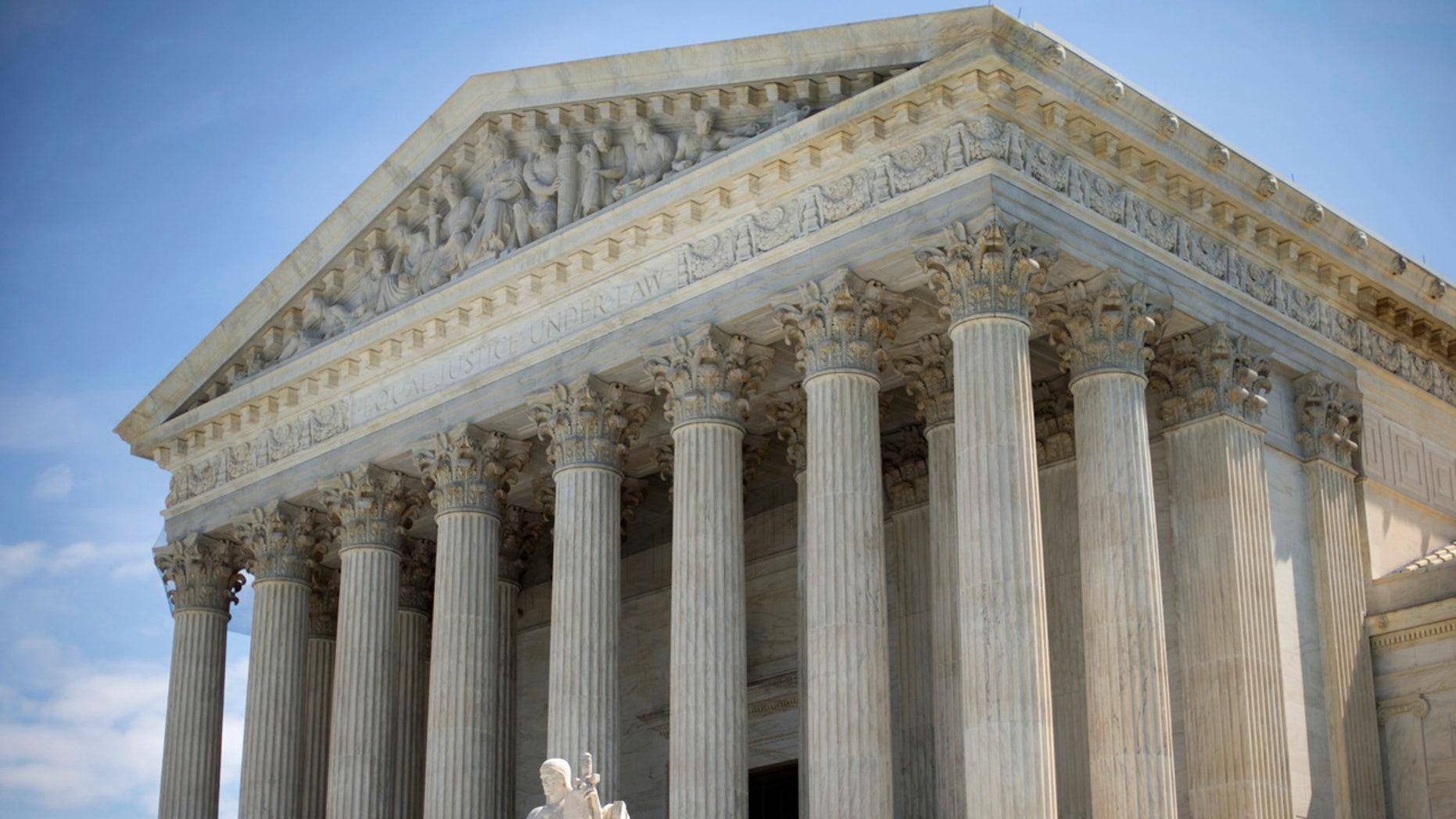 June 30, 2014: The Supreme Court in Washington, D.C.